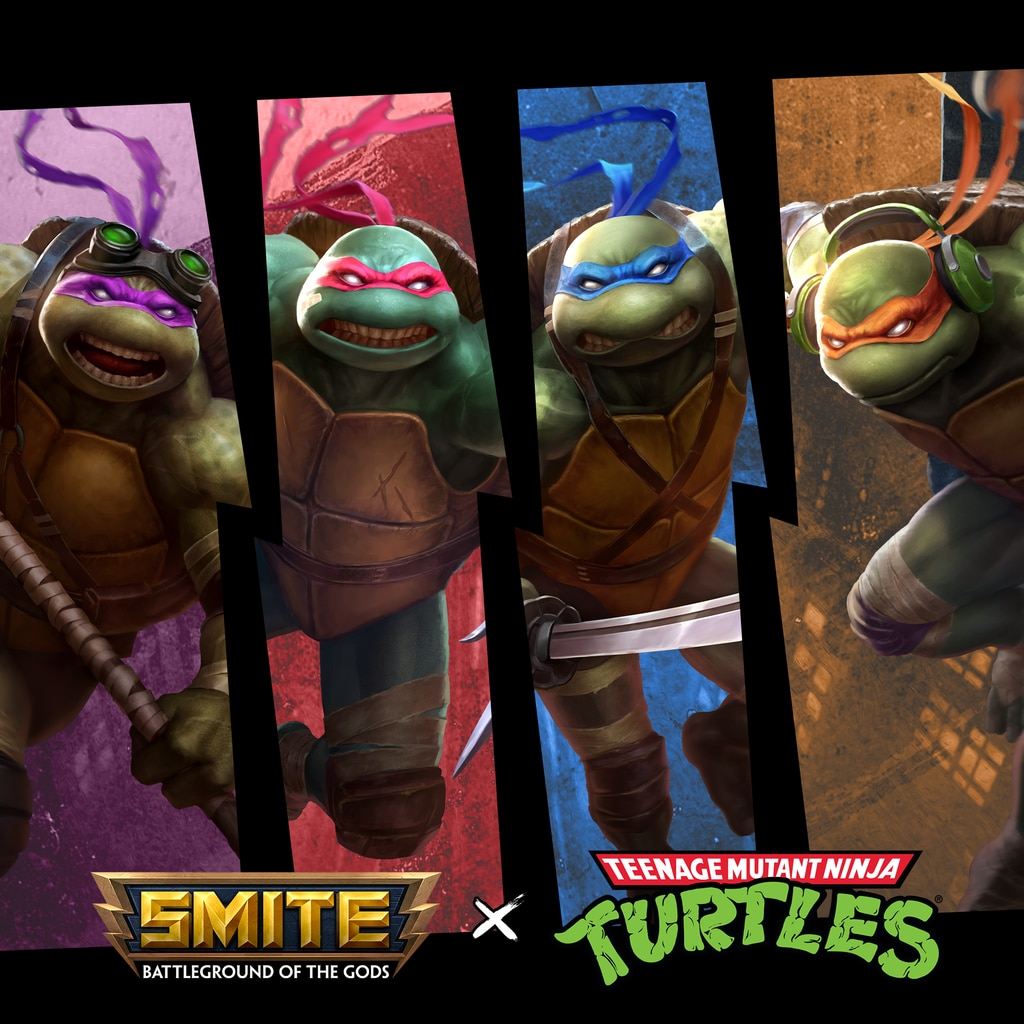 SMITE x TMNT Plus Bundle