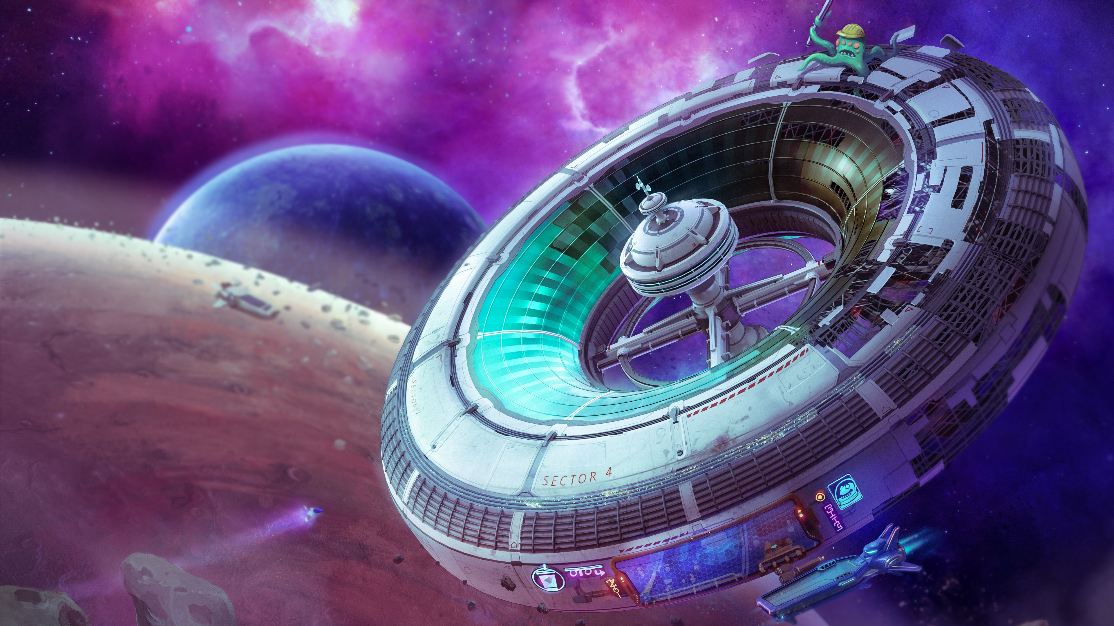 Spacebase Startopia - Extended Edition - PS4 & PS5