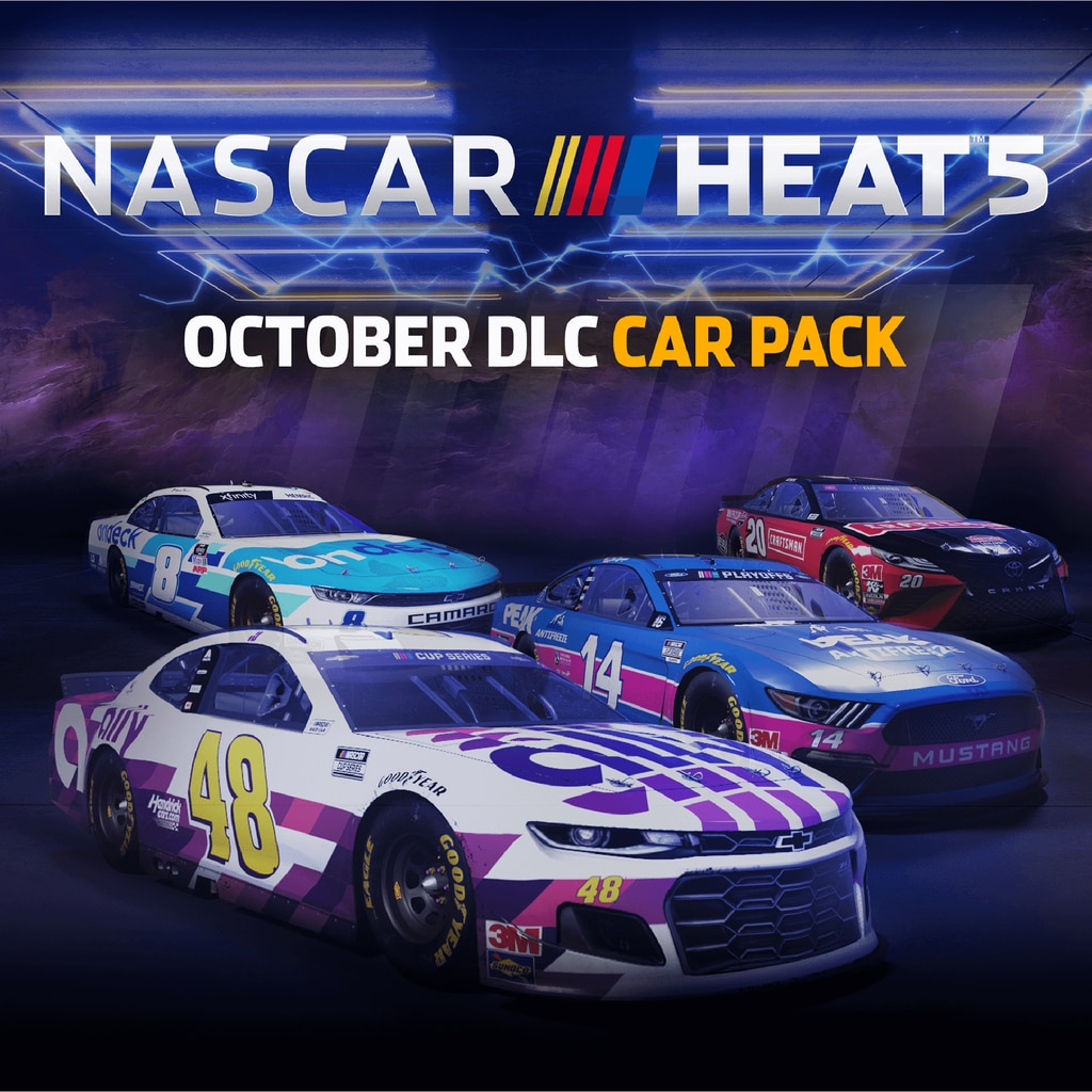 NASCAR Heat 5 - October Pack
