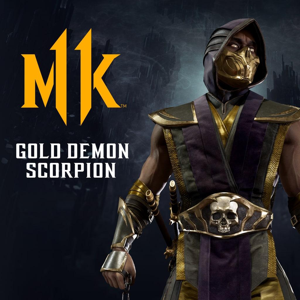 Scorpion: Goldener Dämon