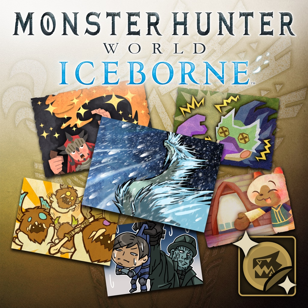 MHW:I - Complete Sticker Pack