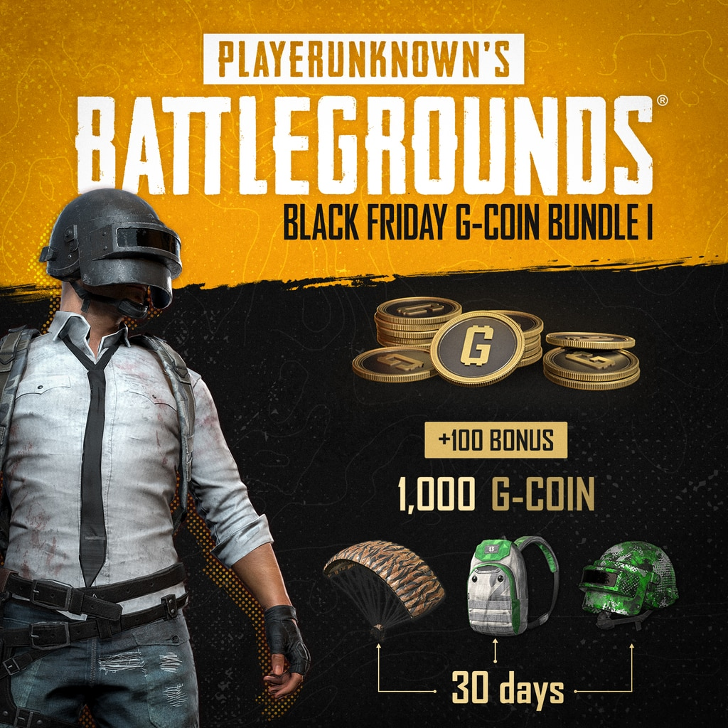 PUBG - Black Friday G-Coin Bundle I (English/Chinese/Korean/Japanese Ver.)