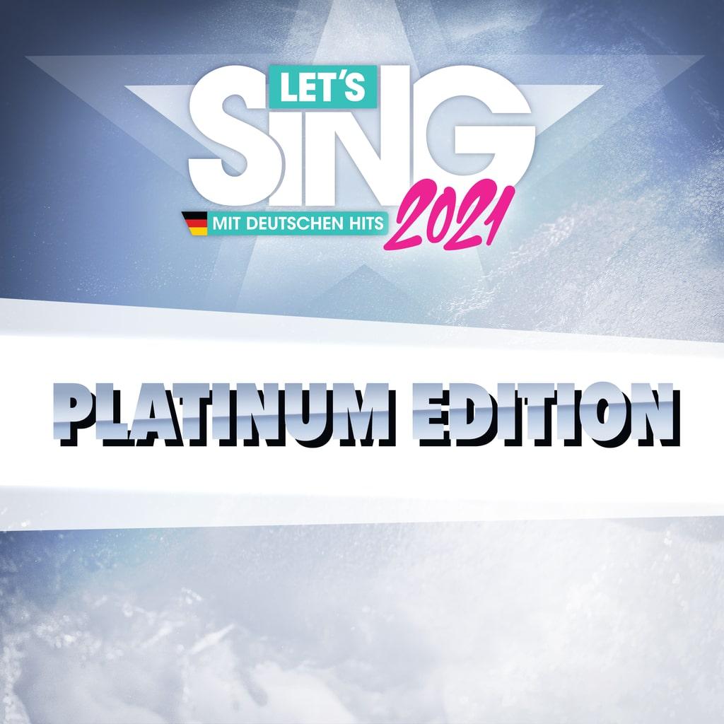 Let'sSing2021 Mit Deutschen Hits - PlatinumEdition