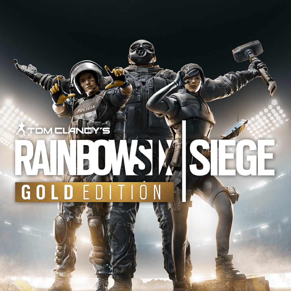 Tom Clancy's Rainbow Six Siege Gold Edition PS4 & PS5