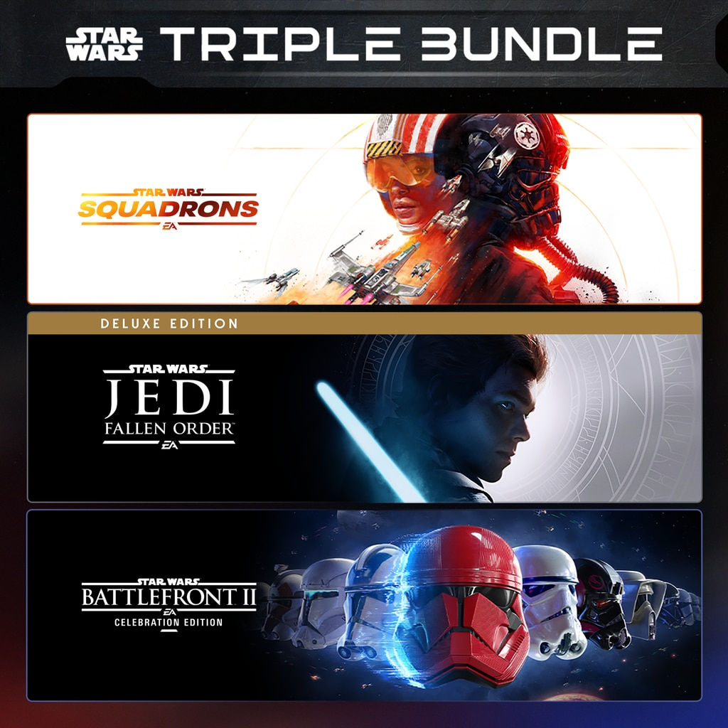TRIPLE PACK EA STAR WARS™