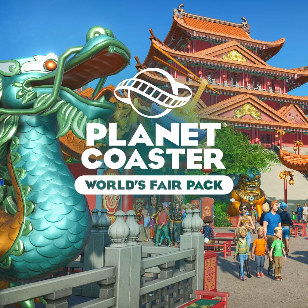 Planet Coaster: Weltausstellungspaket