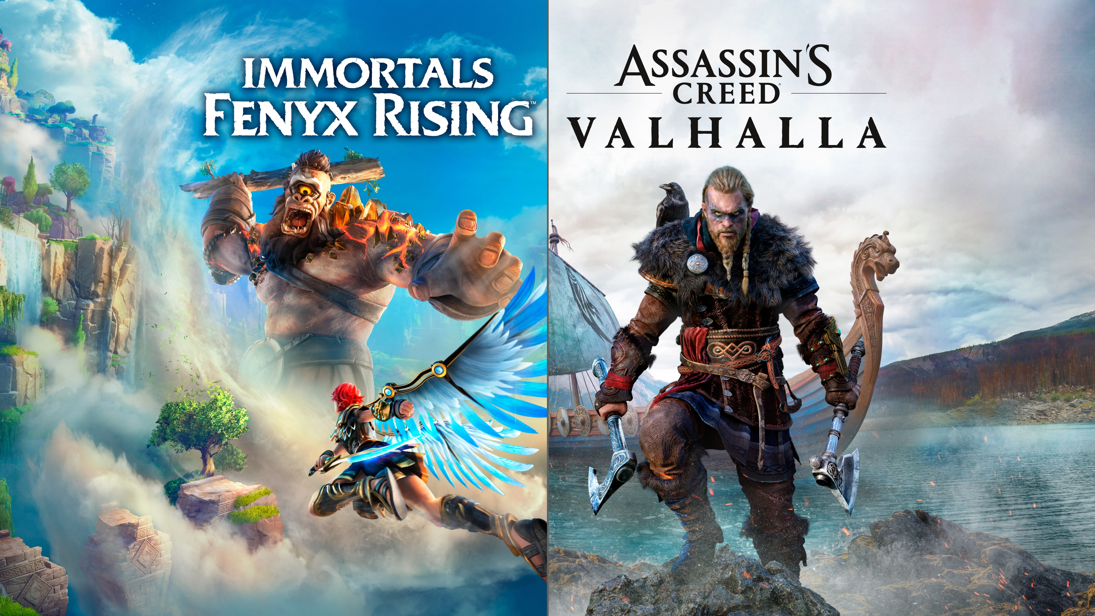 Assassin's Creed® Вальгалла + Immortals Fenyx Rising™ Bundle