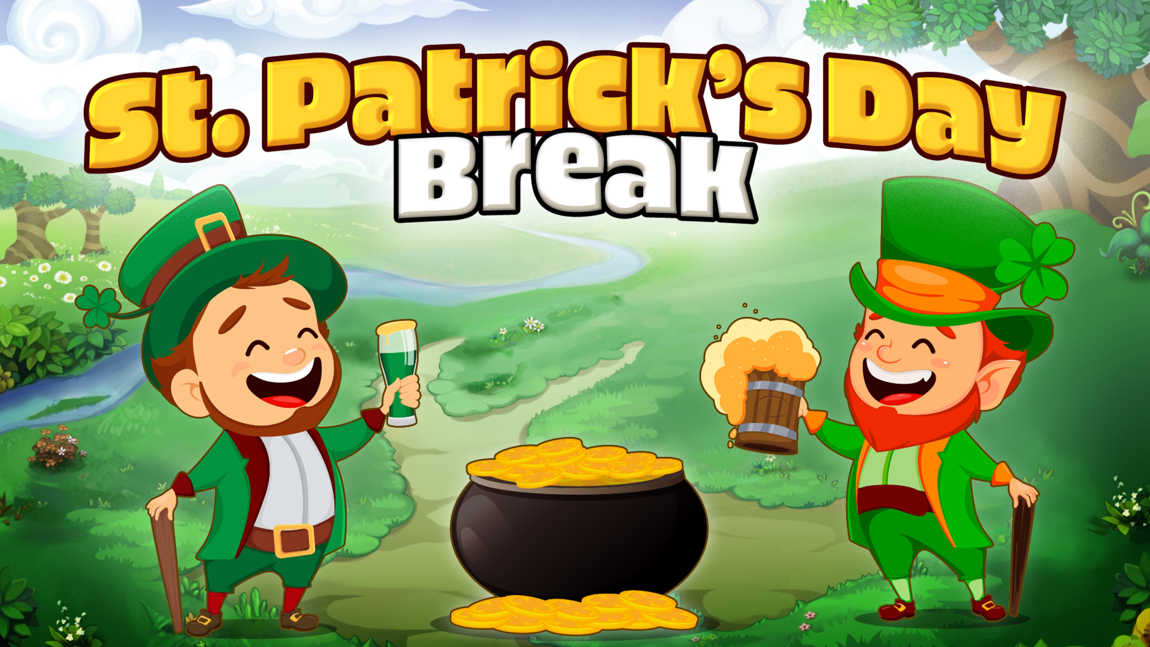 Saint Patricks Day Break
