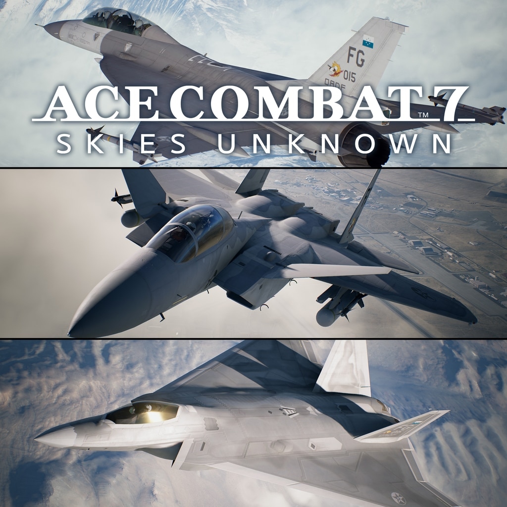 ACE COMBAT™ 7: SKIES UNKNOWN 25th Anniversary DLC - Experimental Aircraft Series – セット