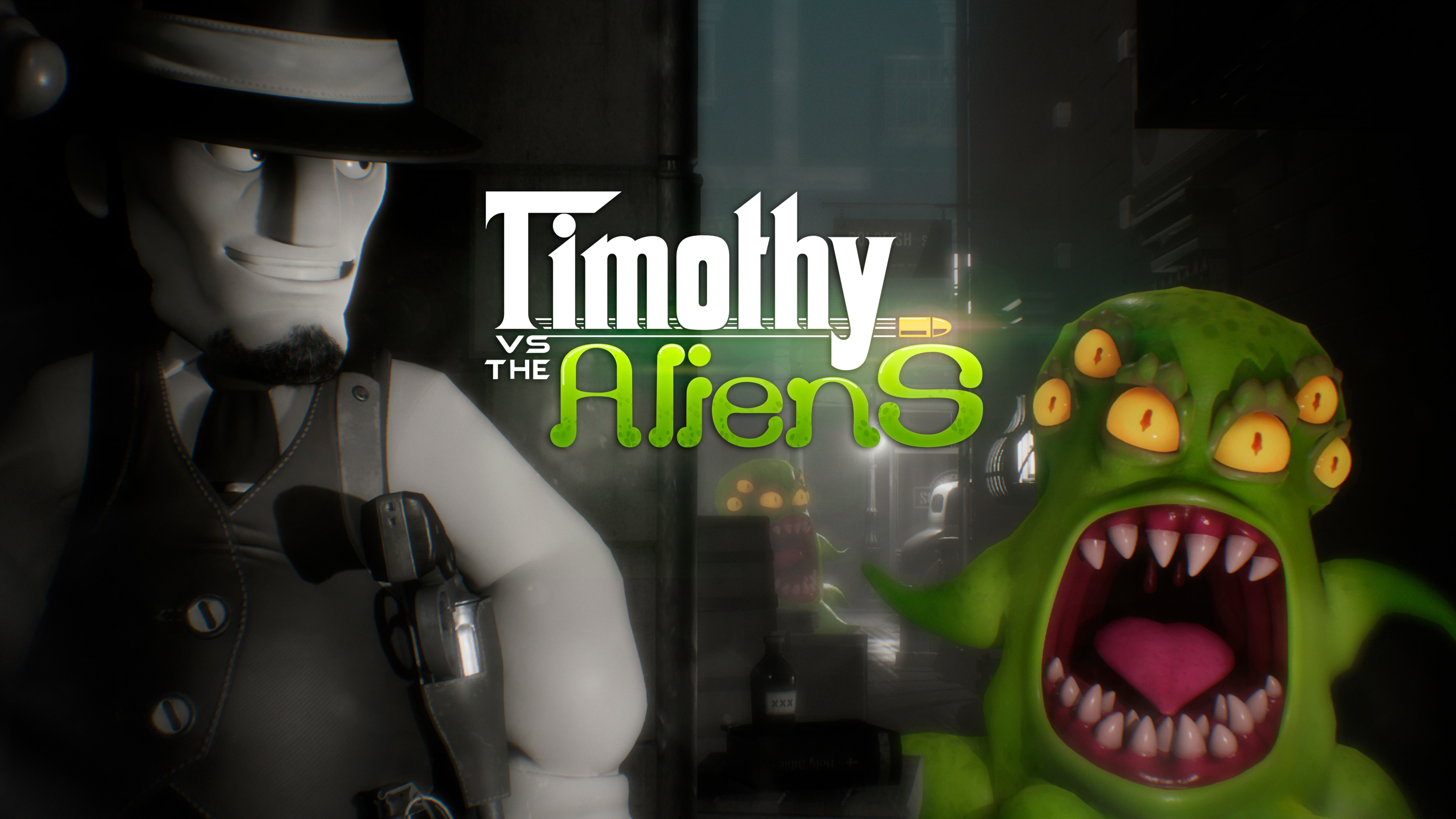 Timothy vs the Aliens (Game + Avatar Pack)