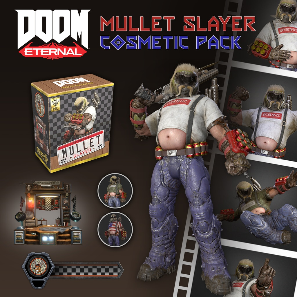 Mullet Slayer Master Collection Cosmetic Pack
