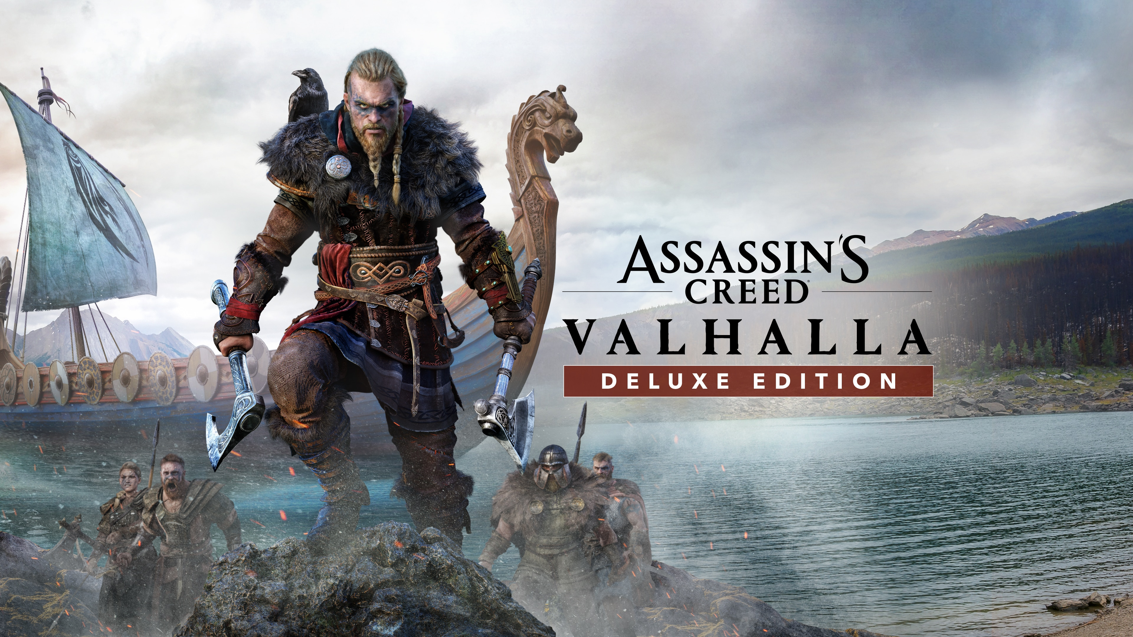 Assassin's Creed Valhalla Deluxe PS4 & PS5