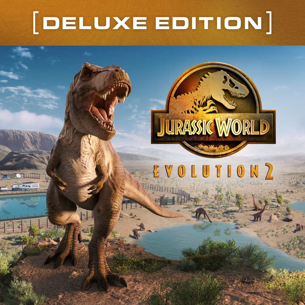 Jurassic World Evolution 2: Deluxe Edition PS4 & PS5