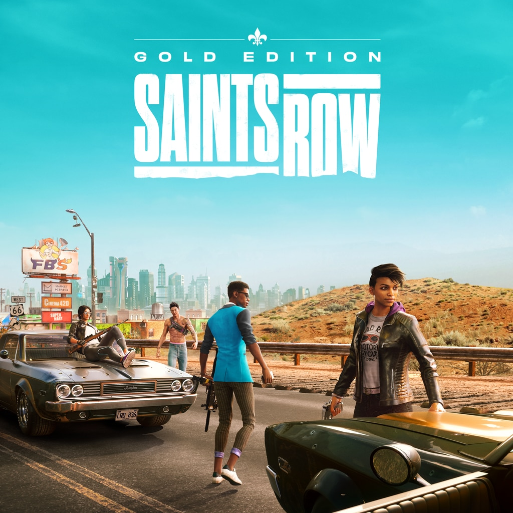 Saints Row Gold Edition PS4&PS5 (Game)
