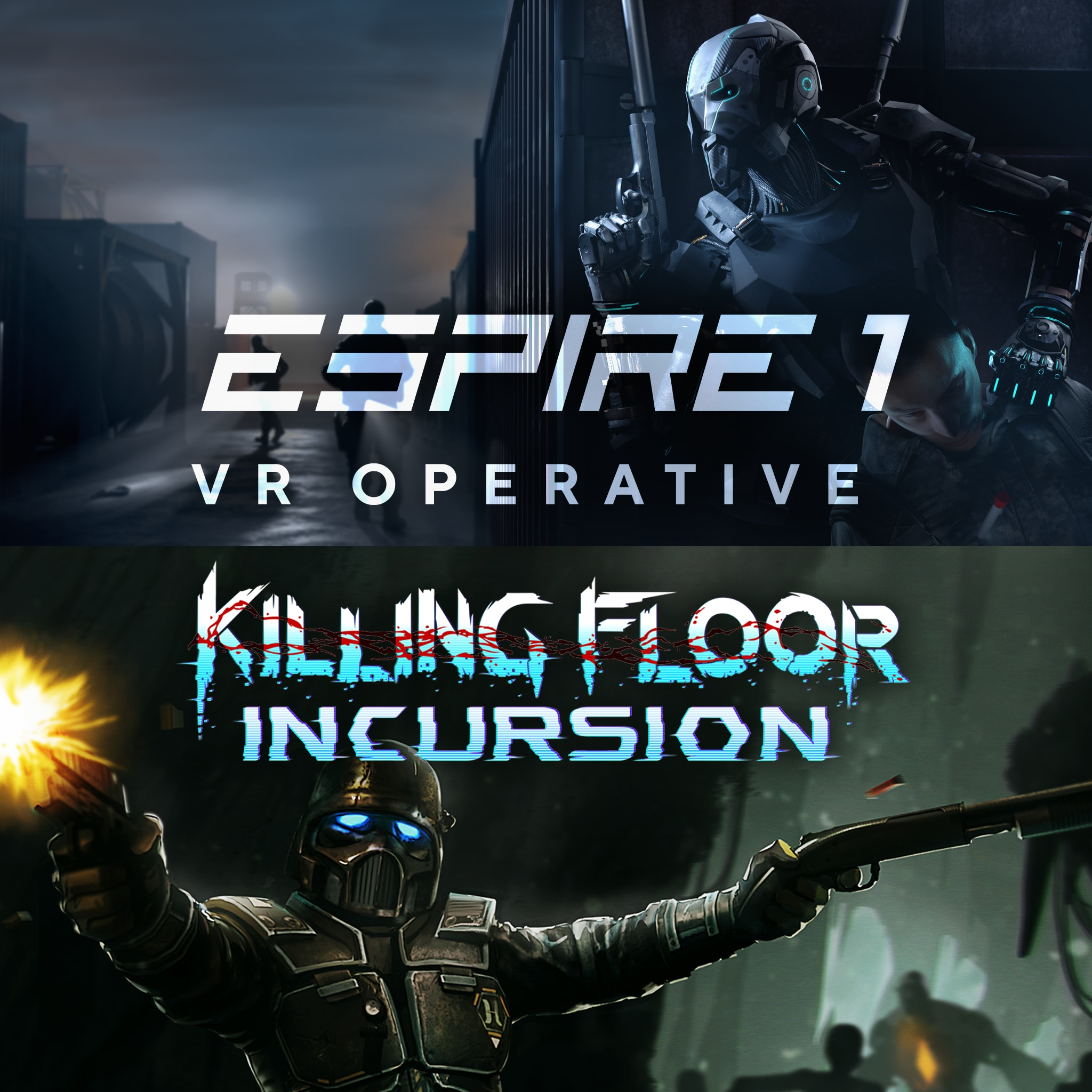 Pacote RV de Espire 1: VR Operative e Killing Floor: Incursion
