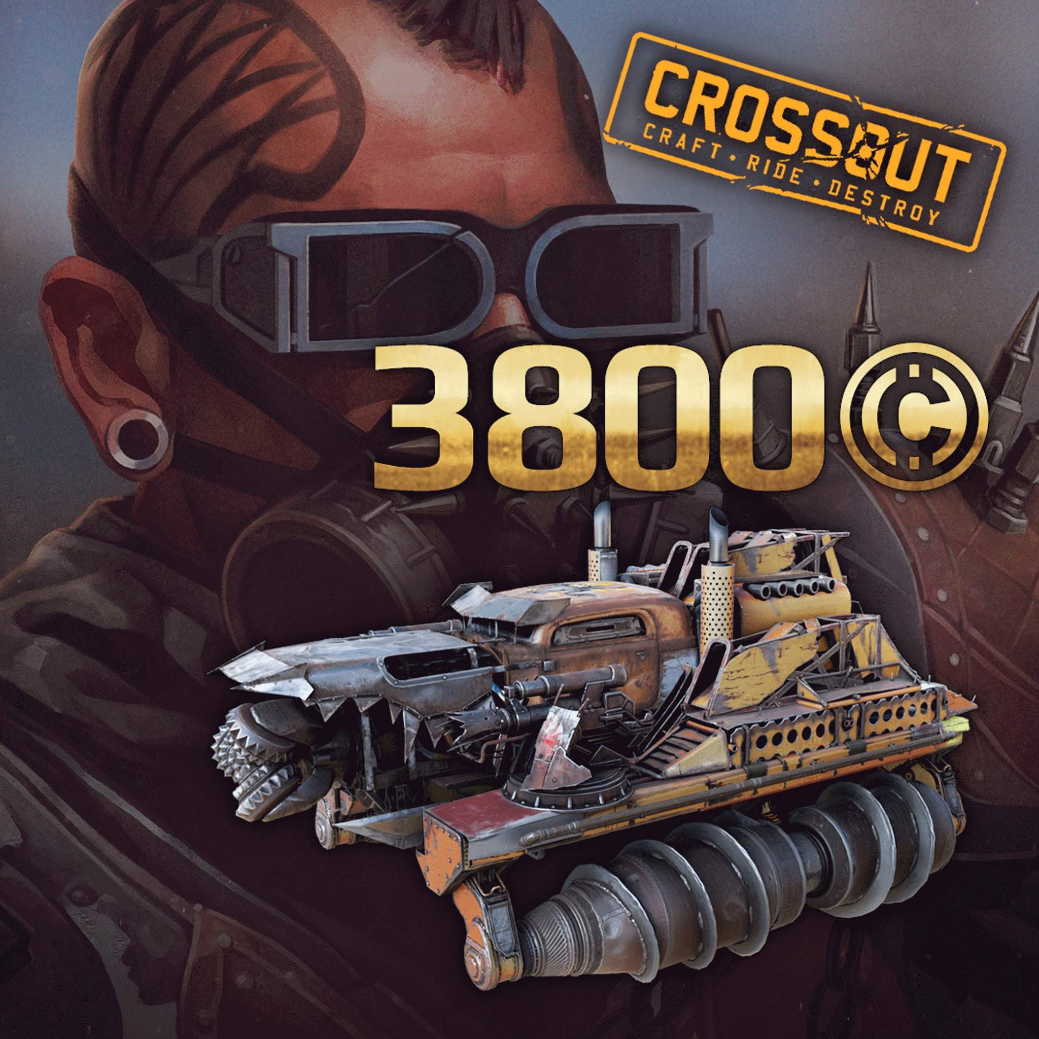 Crossout - 'Arsonist' Pack