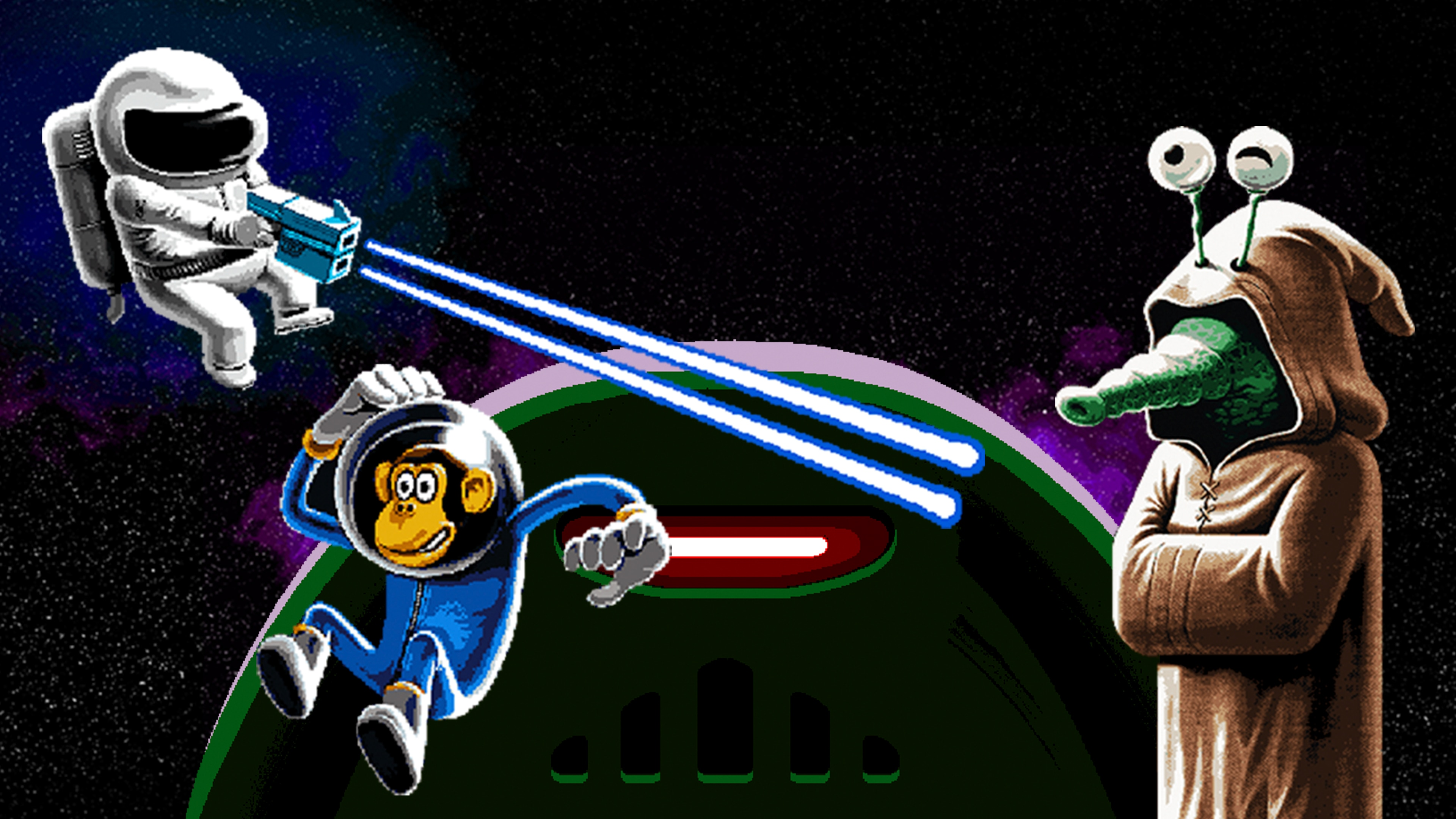 Willy Jetman: Astromonkey´s Revenge
