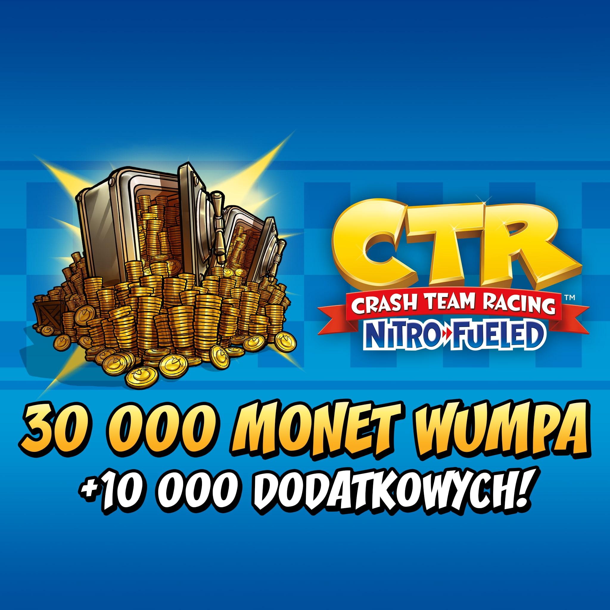 Crash™ Team Racing Nitro-Fueled - 30 000 (+10 000) Monet Wumpa