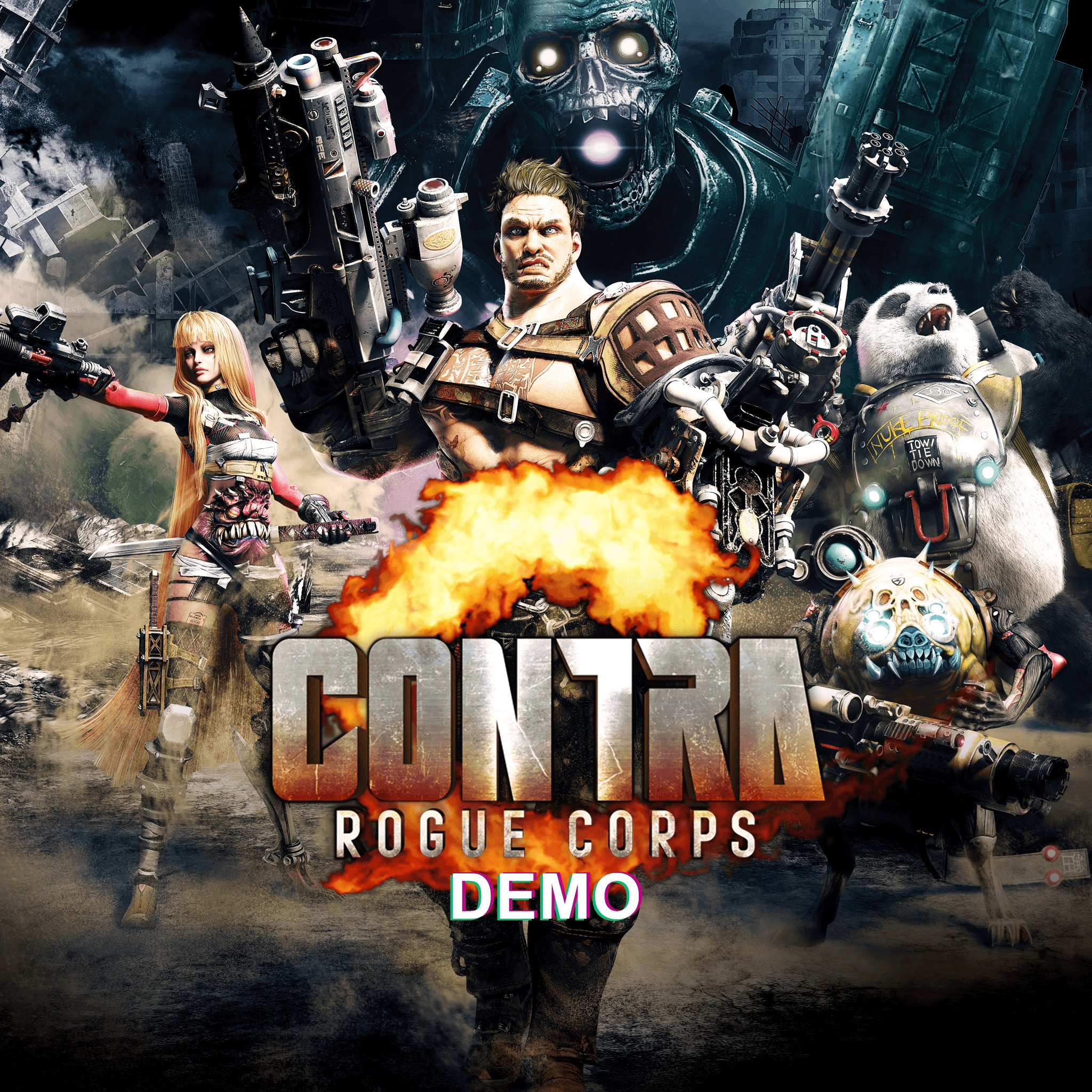 CONTRA: ROGUE CORPS DEMO