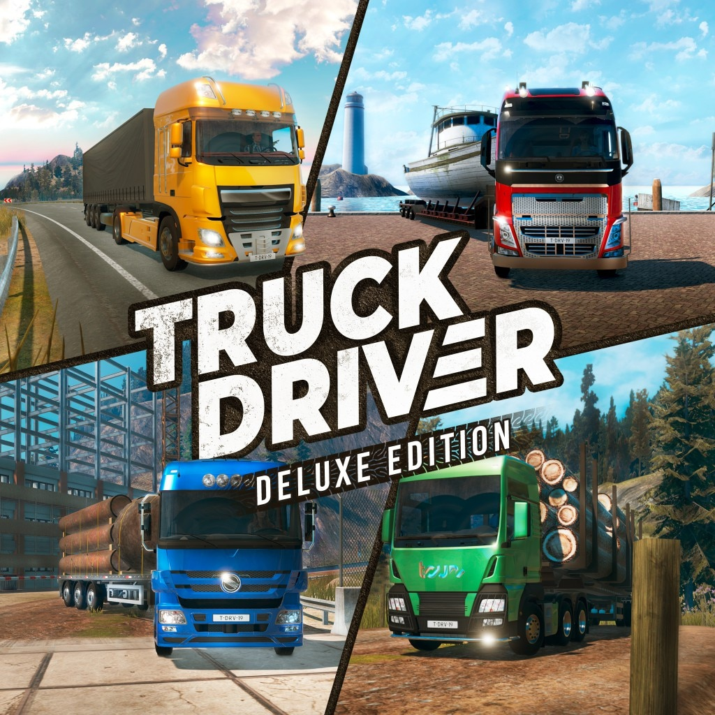 Truck Driver - Deluxe Edition (Simplified Chinese, English, Korean, Japanese, Traditional Chinese)