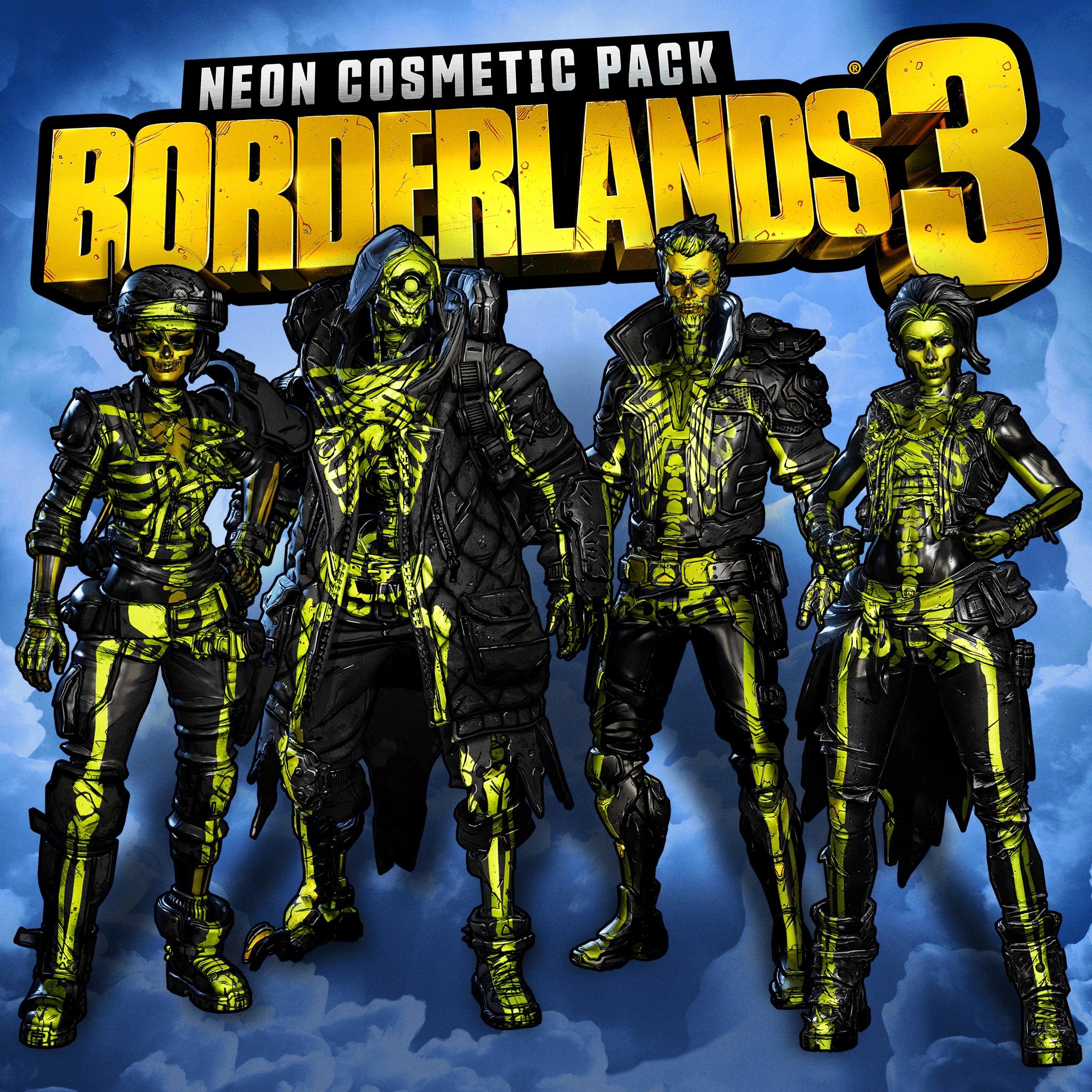 Косметический набор «Неон» для Borderlands 3
