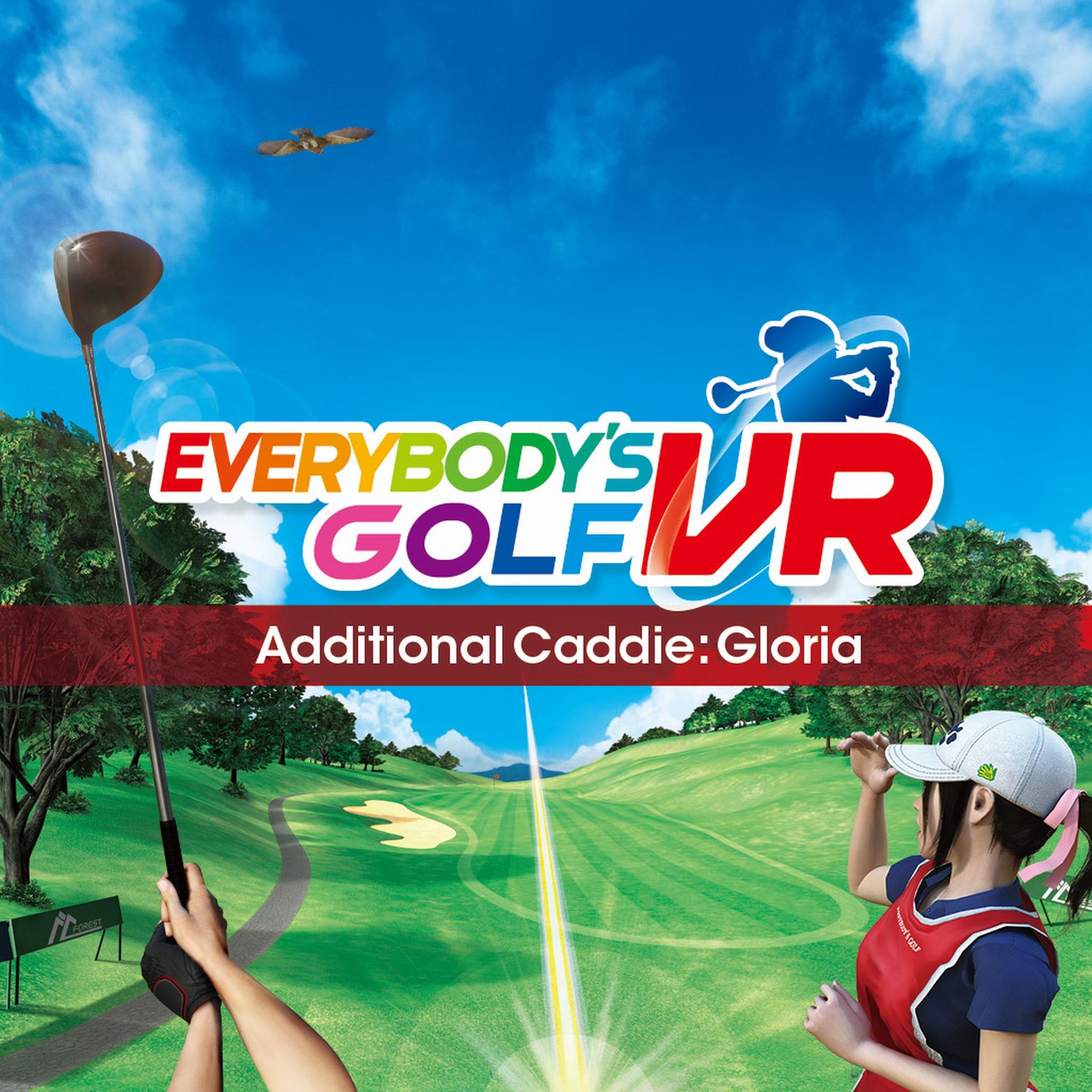Everybody's Golf VR - Caddie Gloria