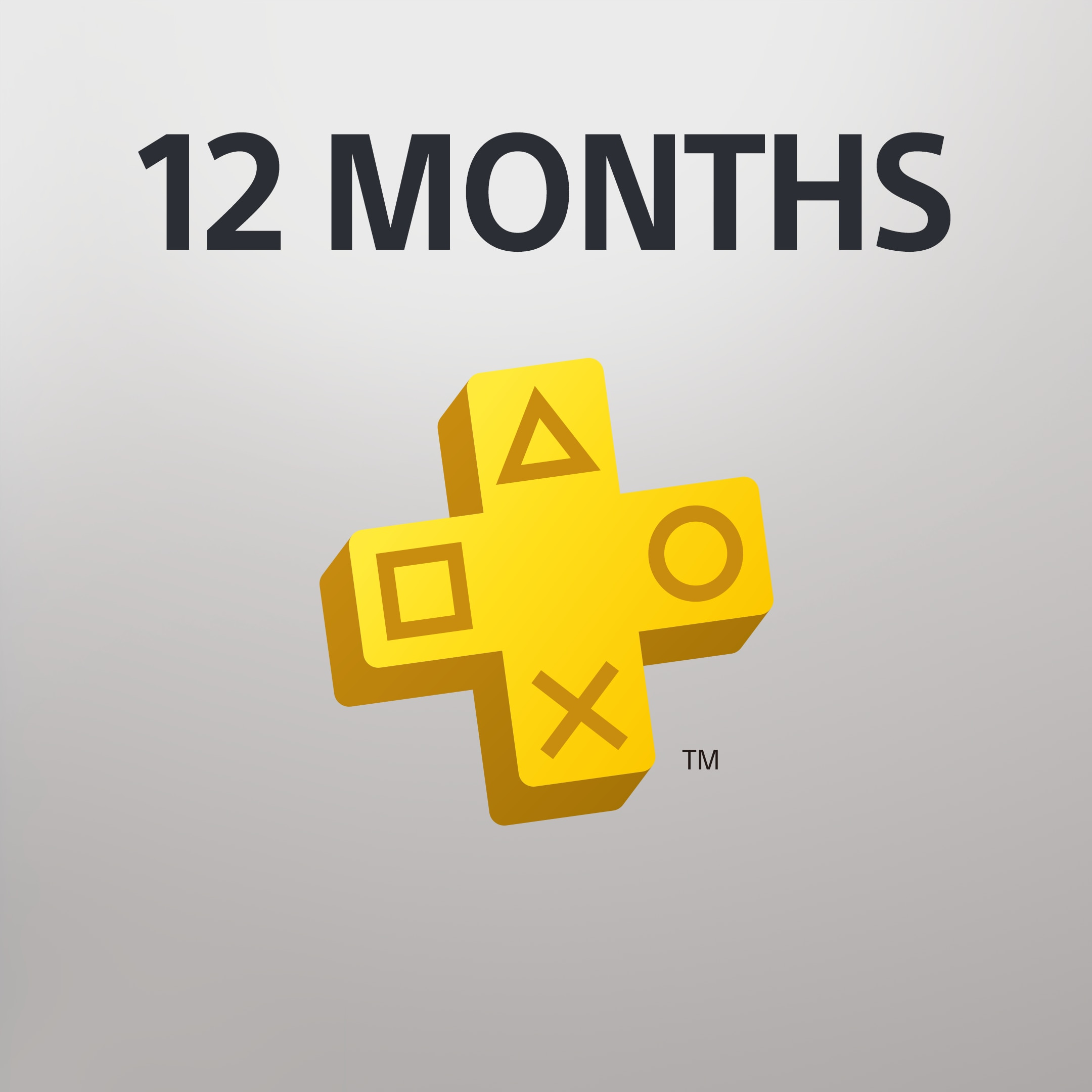 PlayStation Plus (12 MONTH MEMBERSHIP)