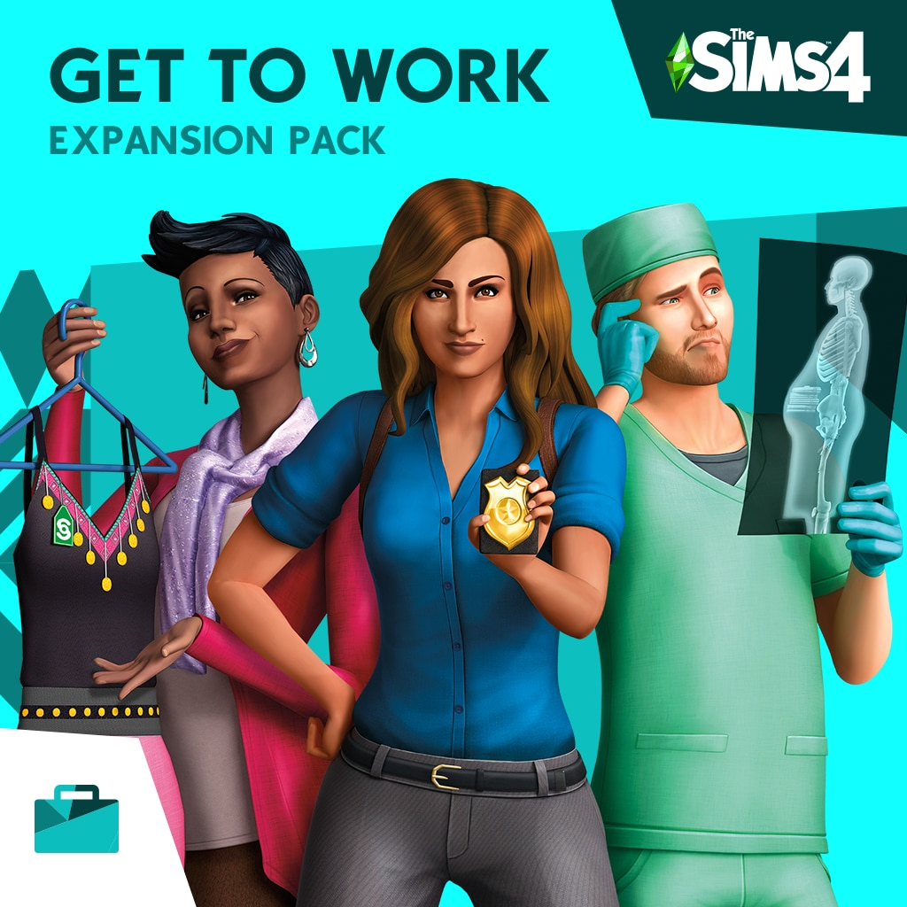 The Sims™ 4 Get to Work (中英文版)