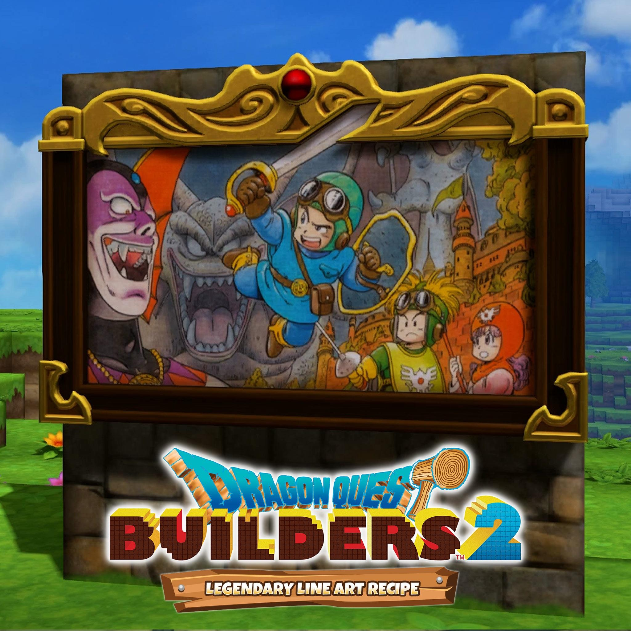 DQB2 - Legendary Line Art Recipe