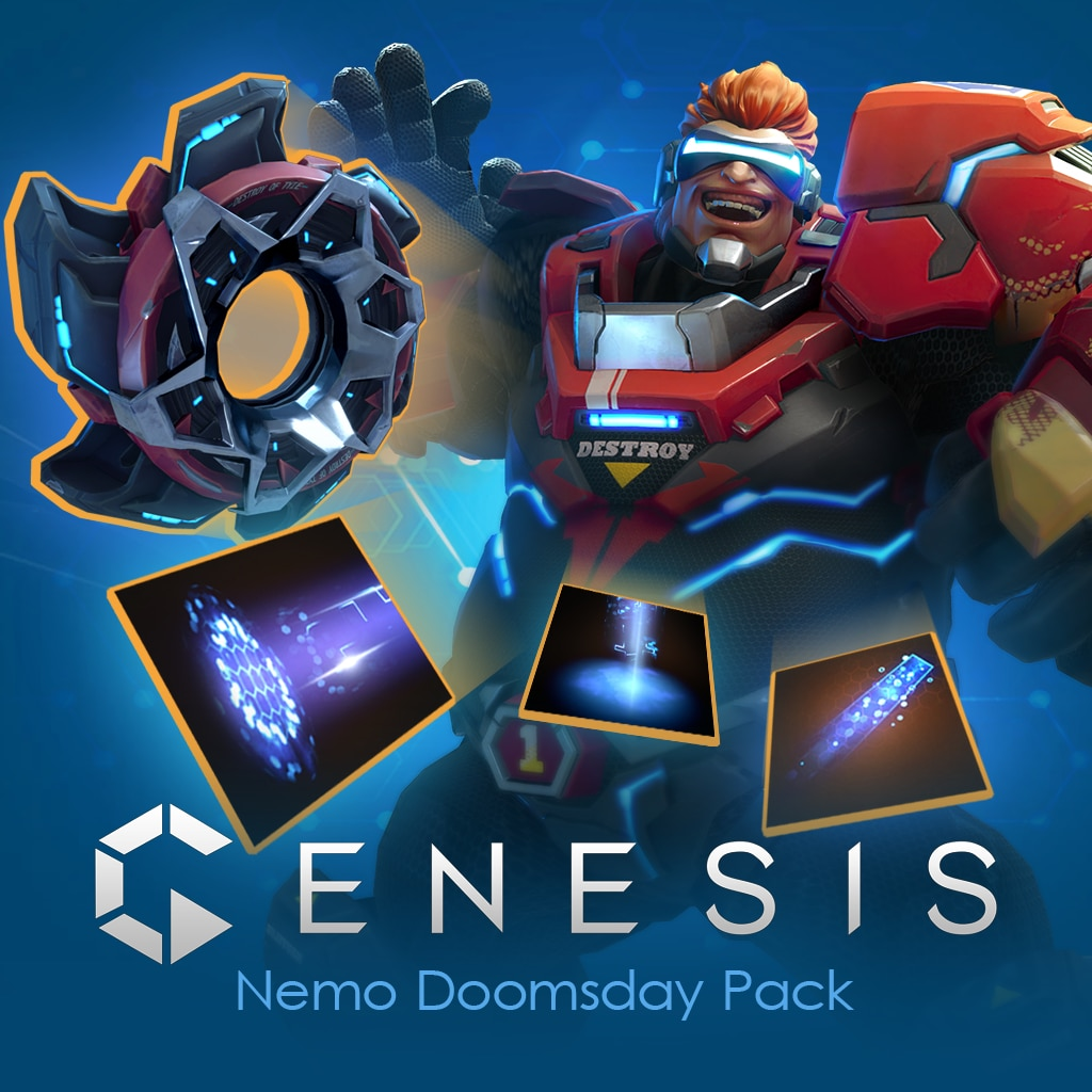 Genesis Nemo Doomsday Pack (English/Chinese Ver.)