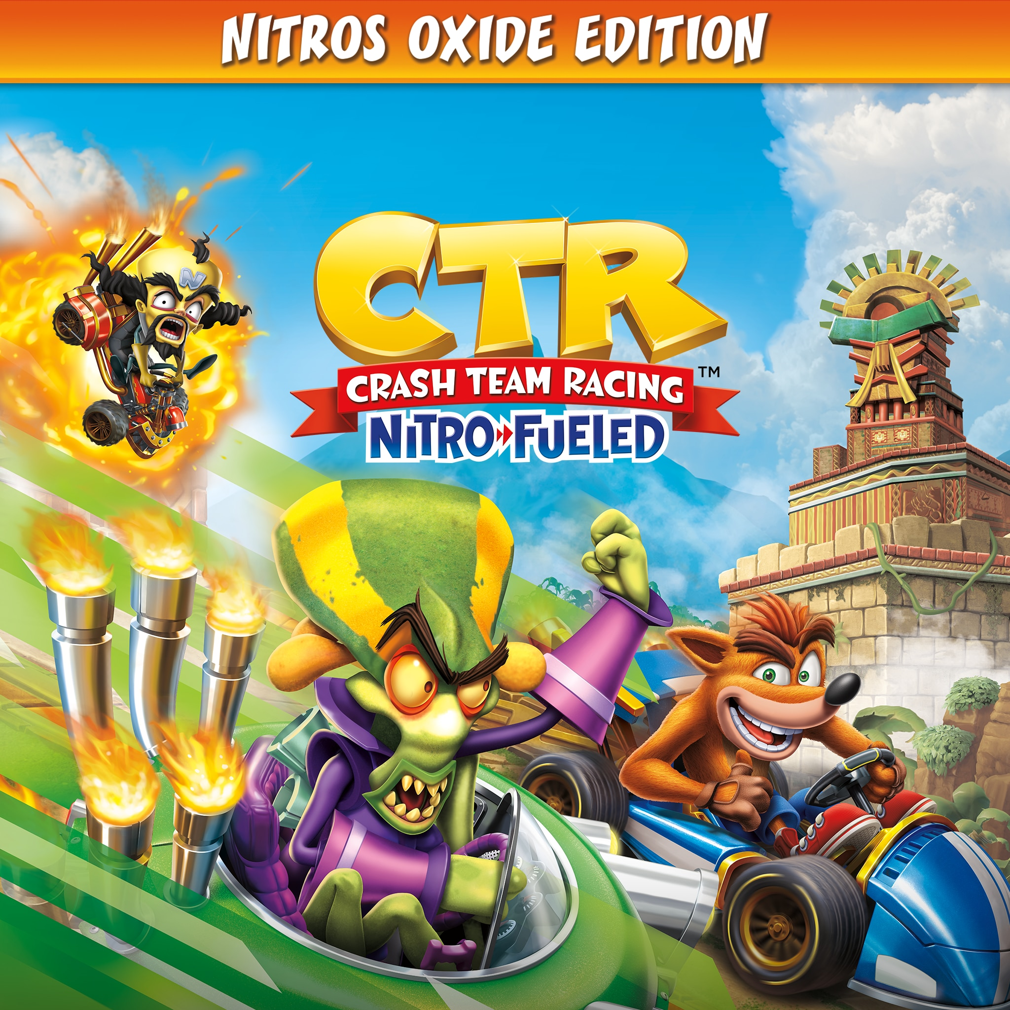 Crash™ Team Racing Nitro-Fueled - издание Nitros Oxide