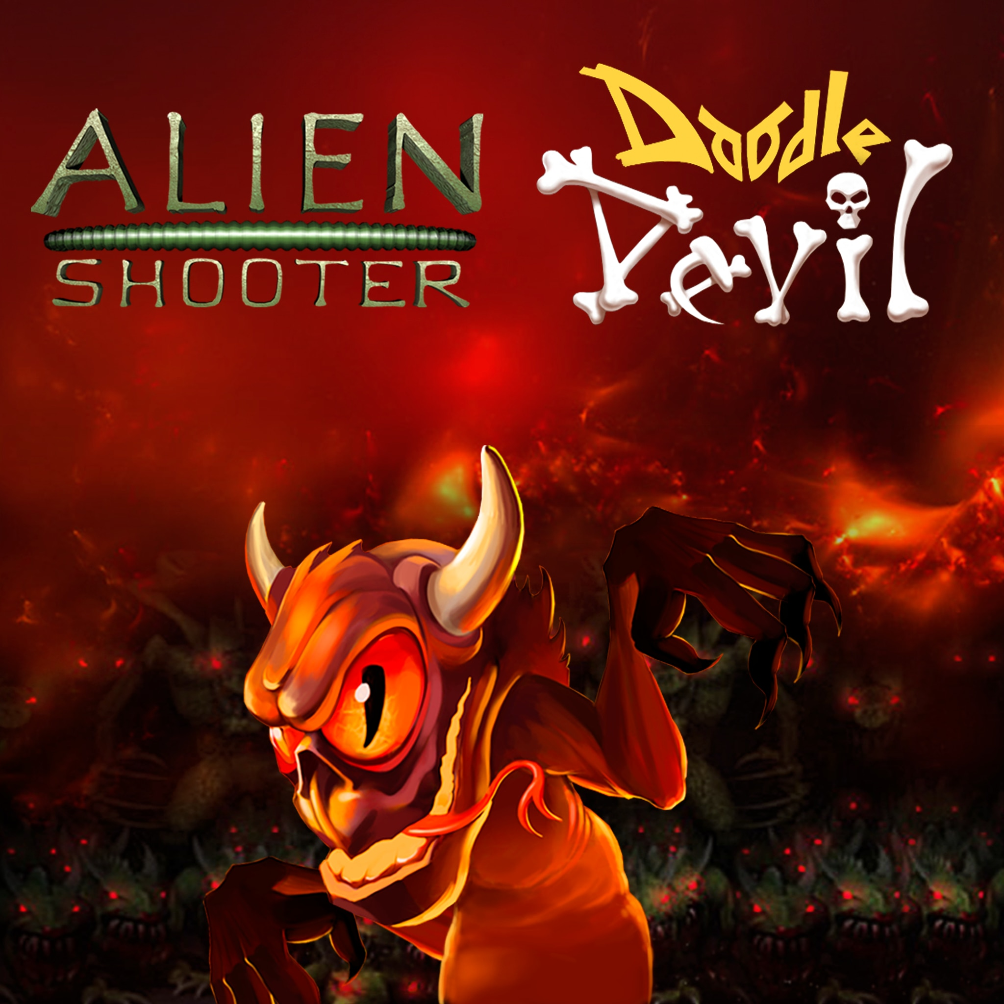 Alien Shooter&Doodle Devil Bundle