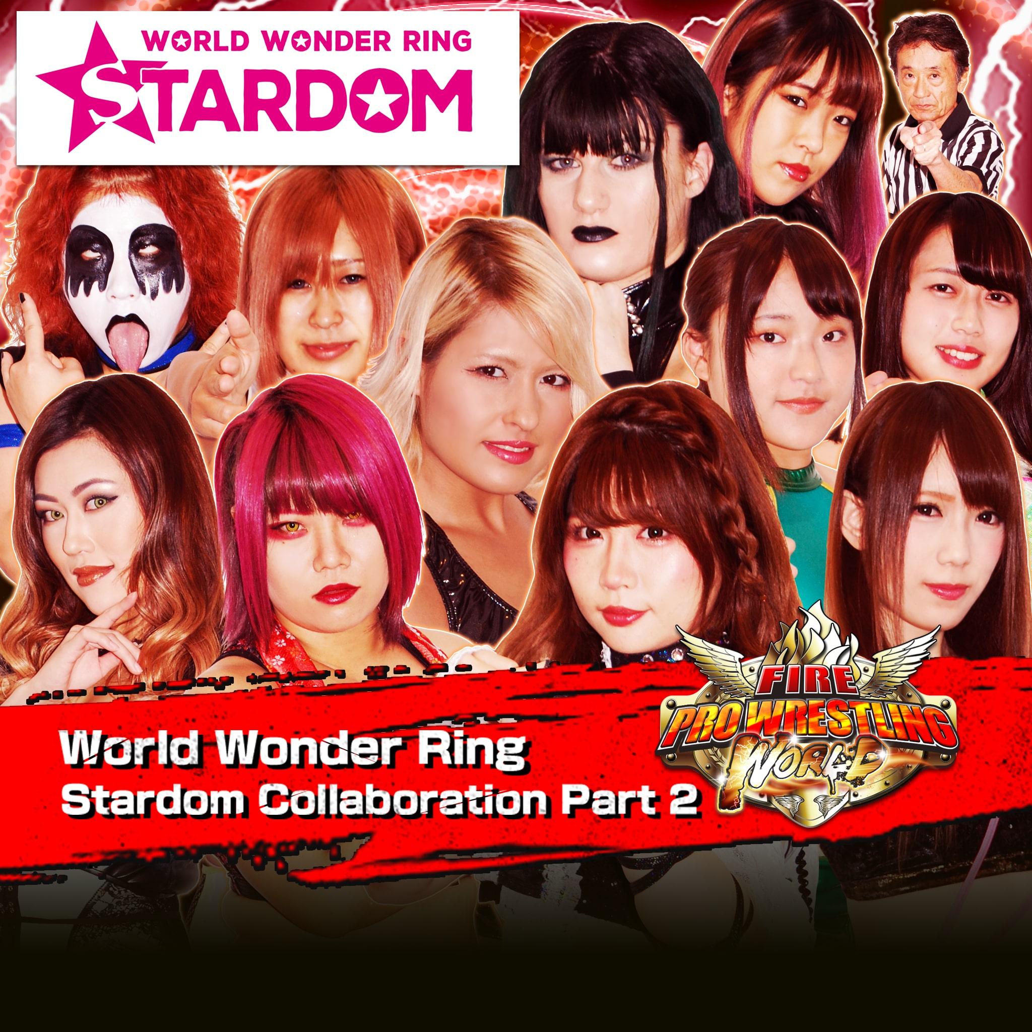 World Wonder Ring Stardom Collaboration Part 2