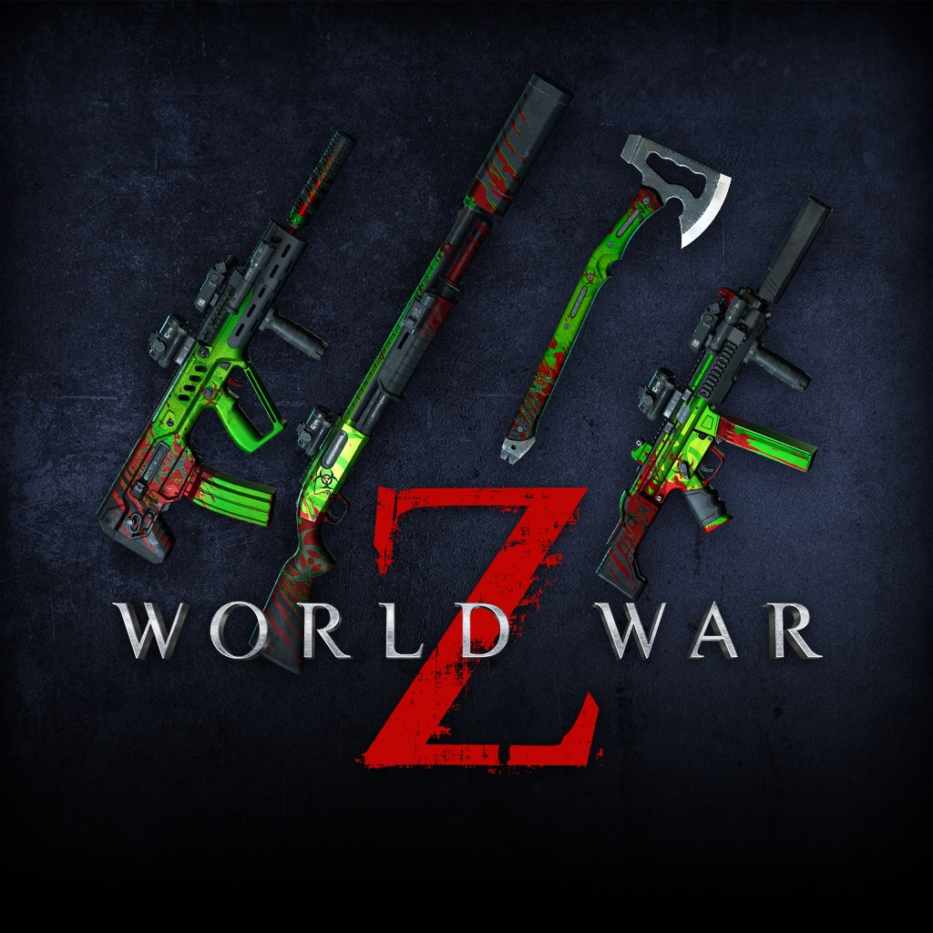 World War Z - Biohazard Weapon Pack