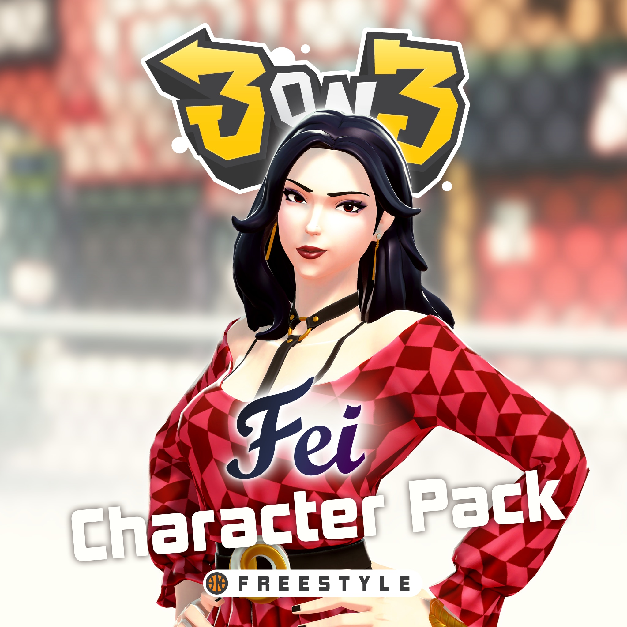 3on3 FreeStyle – Fei Character Pack