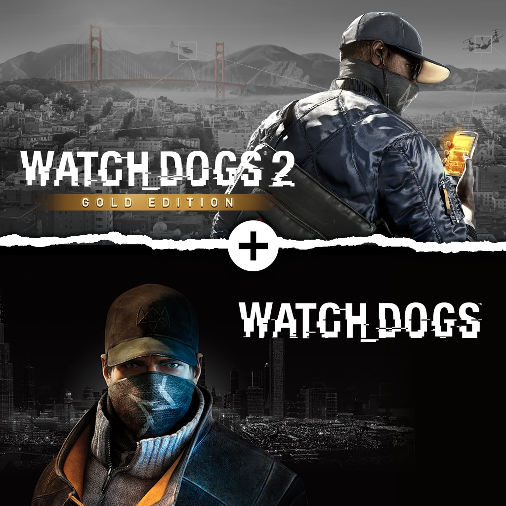 Watch Dogs 1 + Watch Dogs 2 Gold Editions Bundle