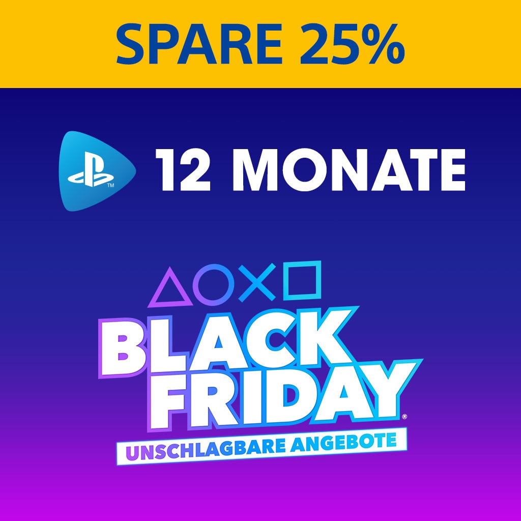 PlayStation Now: 12-Monats-Abonnement - 25 % Rabatt