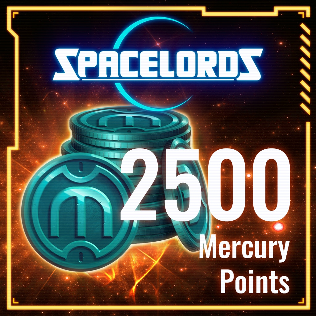 Spacelords: 2500 Mercury Points