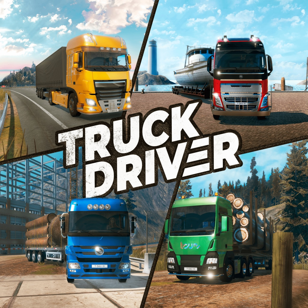 Truck Driver (Simplified Chinese, English, Korean, Japanese, Traditional Chinese)