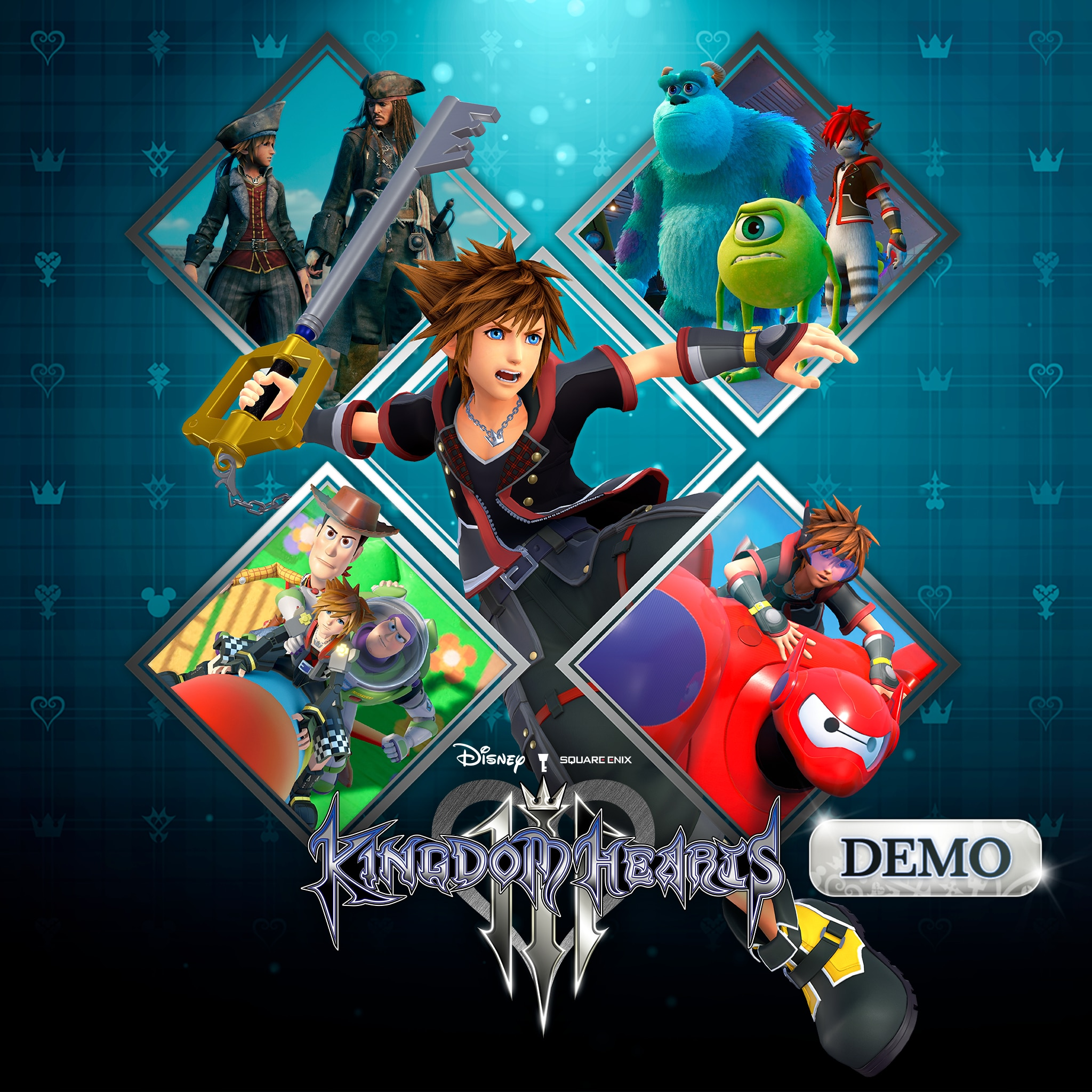 Demo do KINGDOM HEARTS III