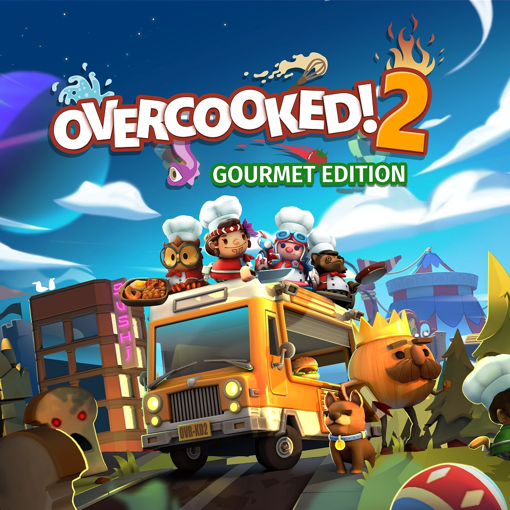 Overcooked! 2 - Gourmet Edition (Simplified Chinese, English, Korean, Japanese)