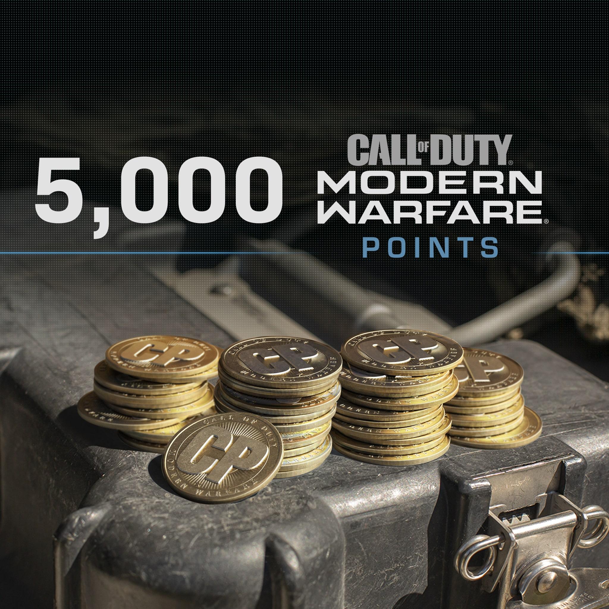 5,000 Call of Duty®: Modern Warfare® Points