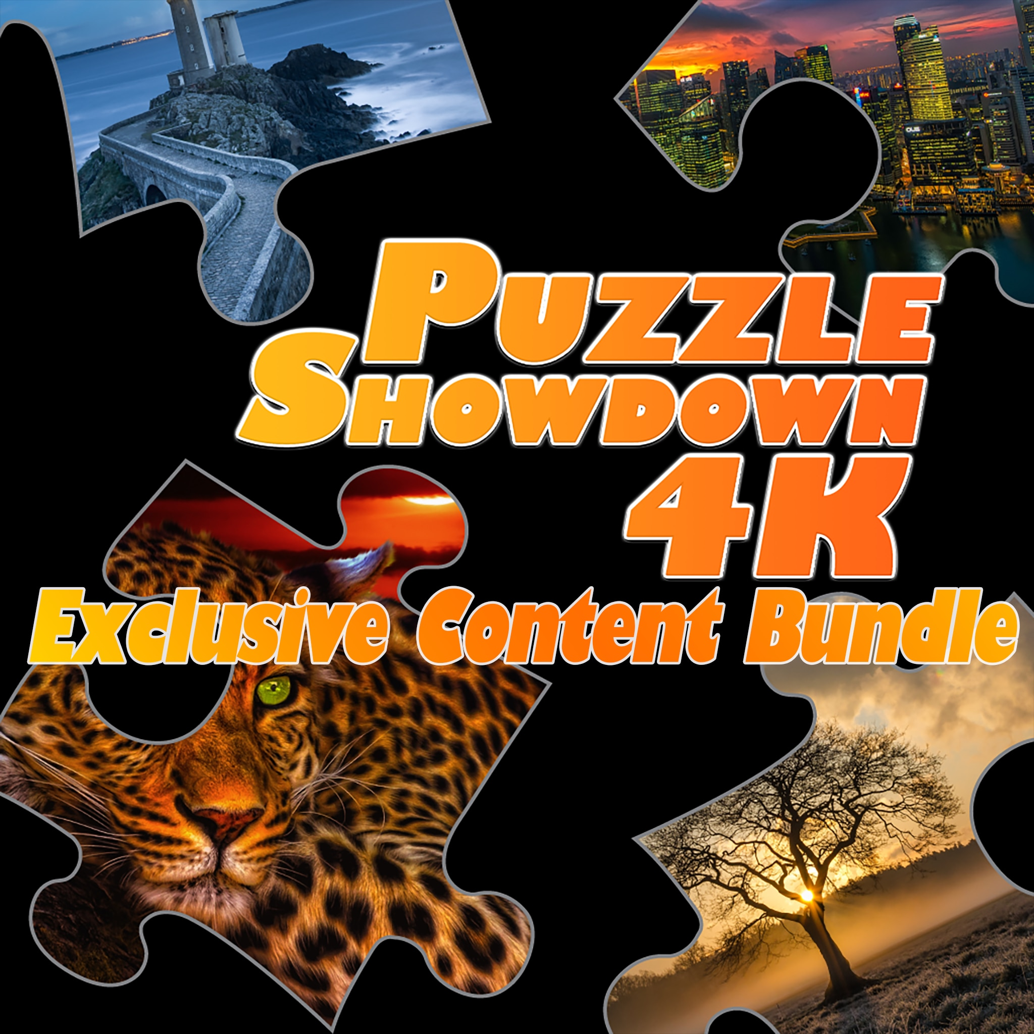 Puzzle Showdown 4K - Exclusive Content Bundle