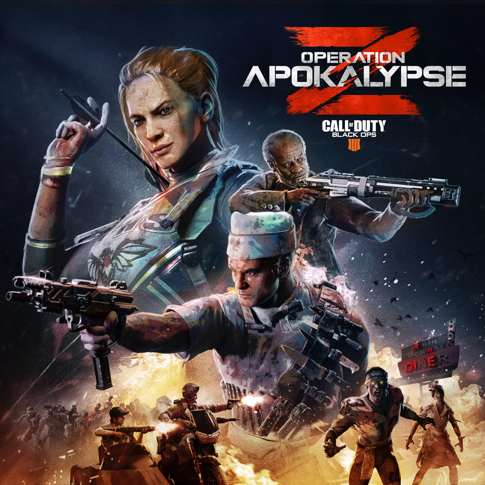 Call of Duty®: Black Ops 4 - Operation Apokalypse Z MS-Karten
