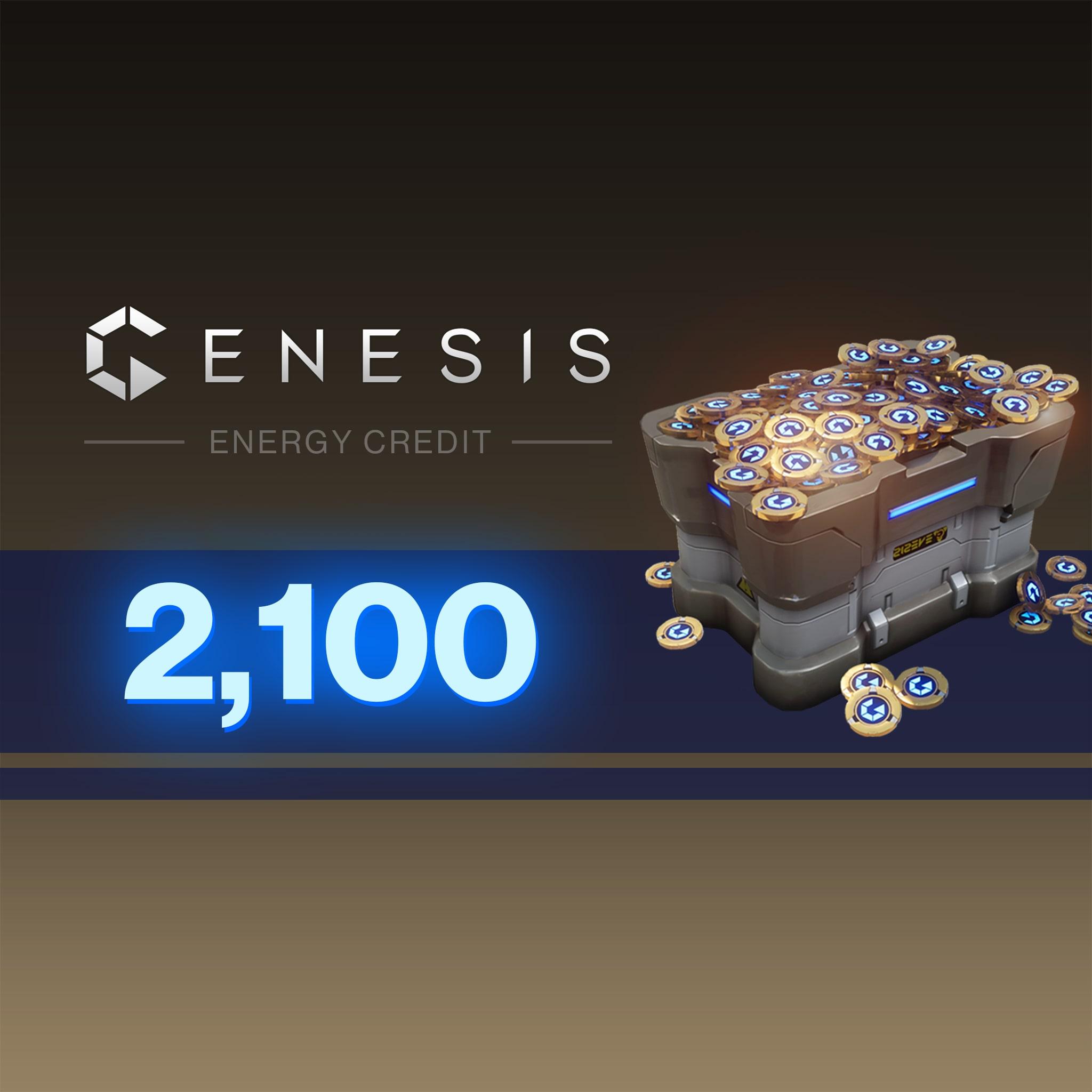 2100 Genesis Energy Credits