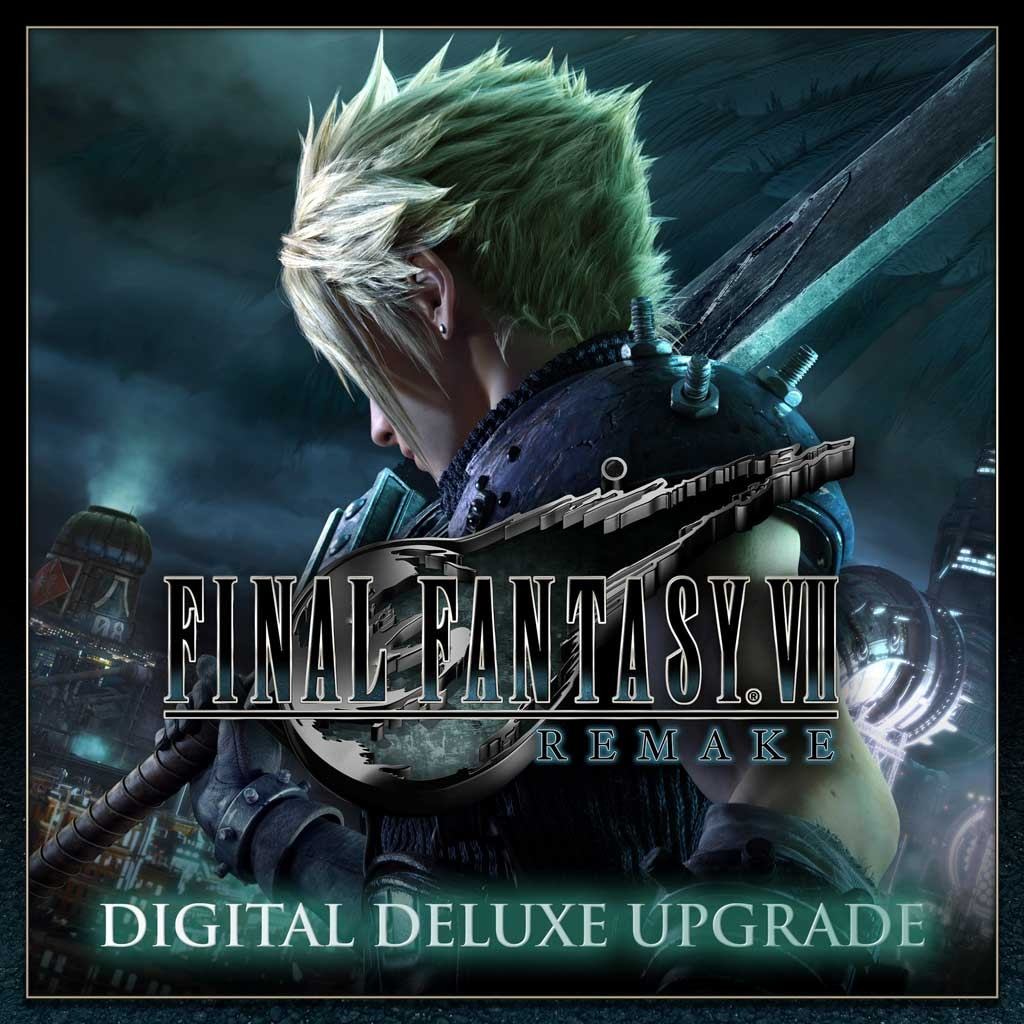 FINAL FANTASY VII REMAKE Digital Deluxe Upgrade (English/Japanese Ver.)