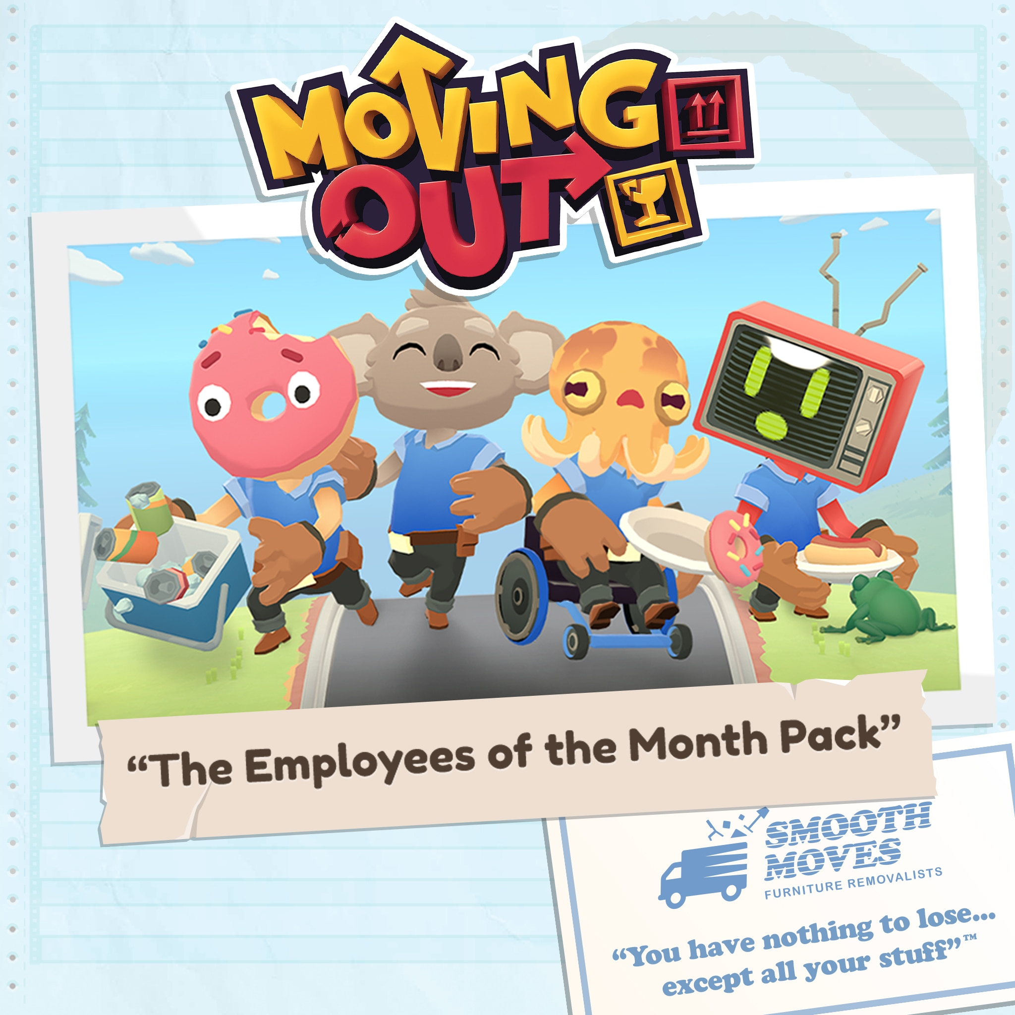Moving Out - The Employees of the Month Pack