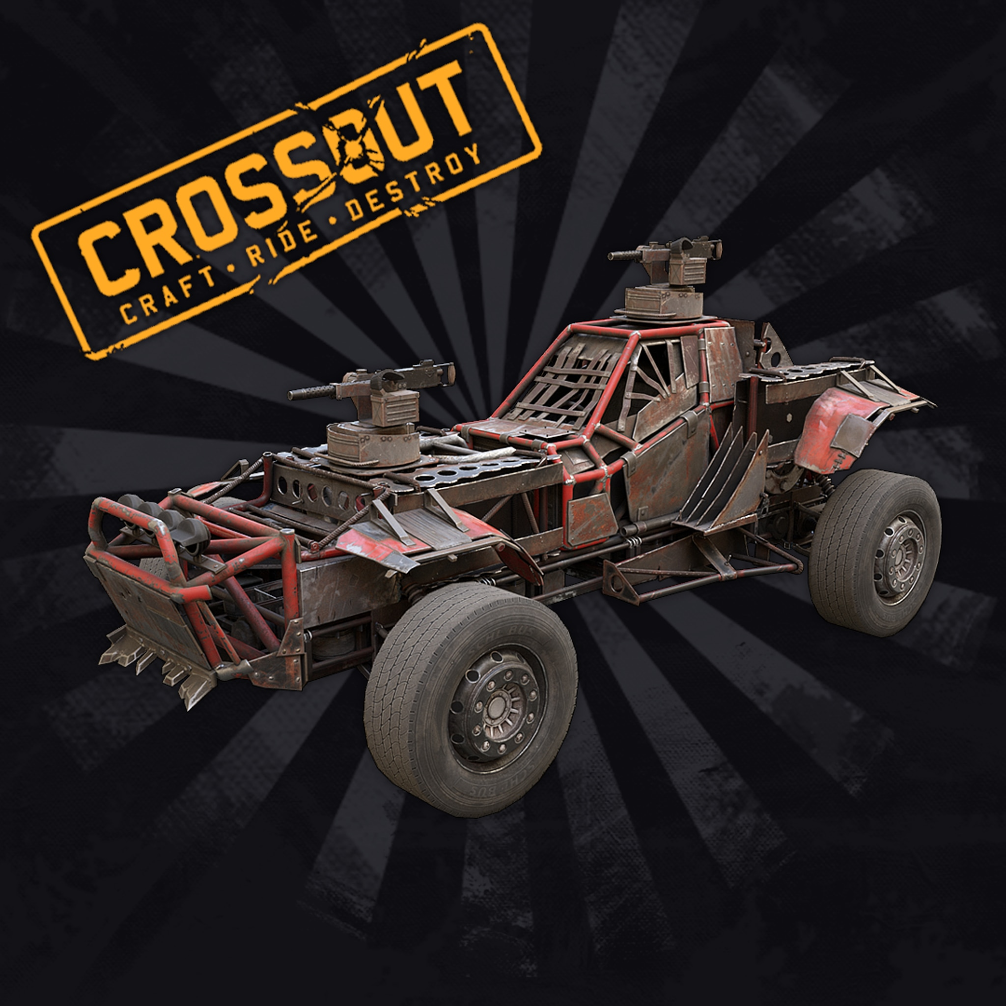 Crossout - Plus Free Starter Pack