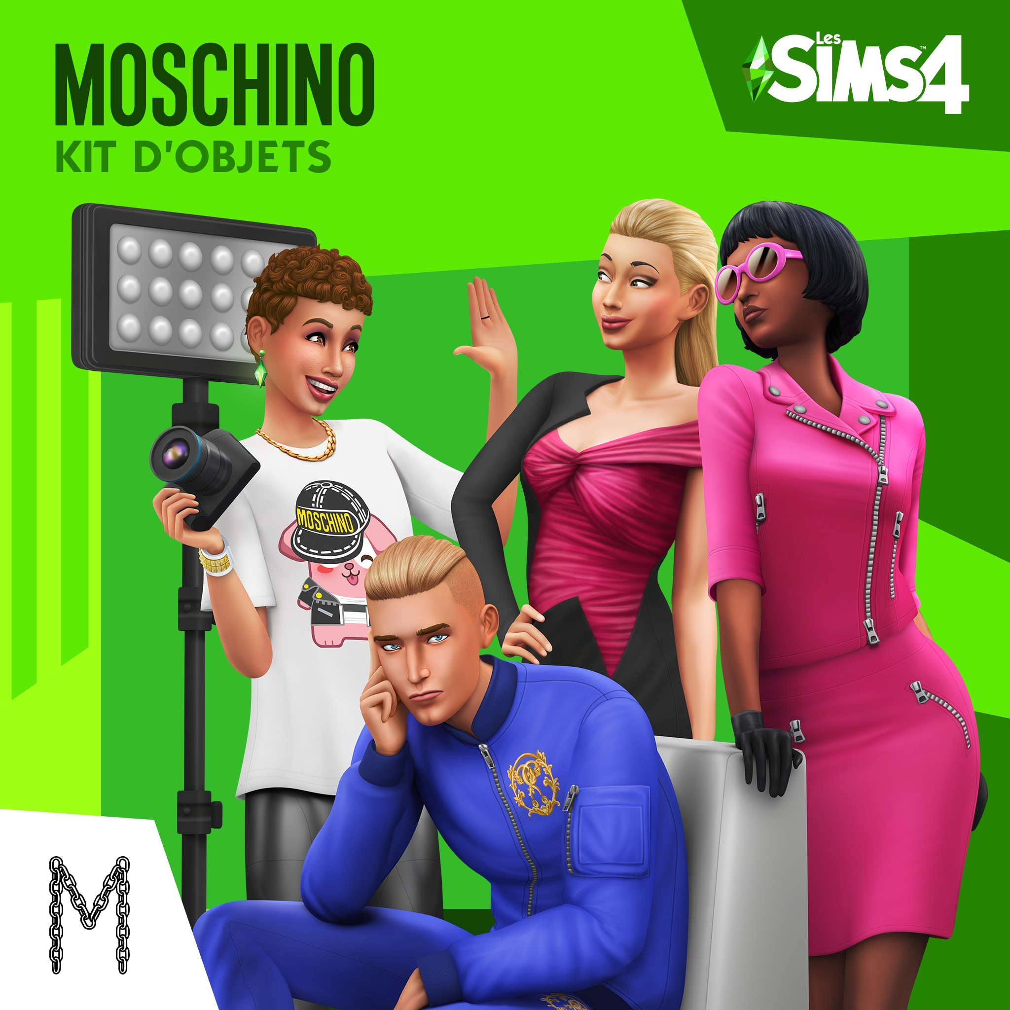 Les Sims™ 4 Moschino Kit d'Objets