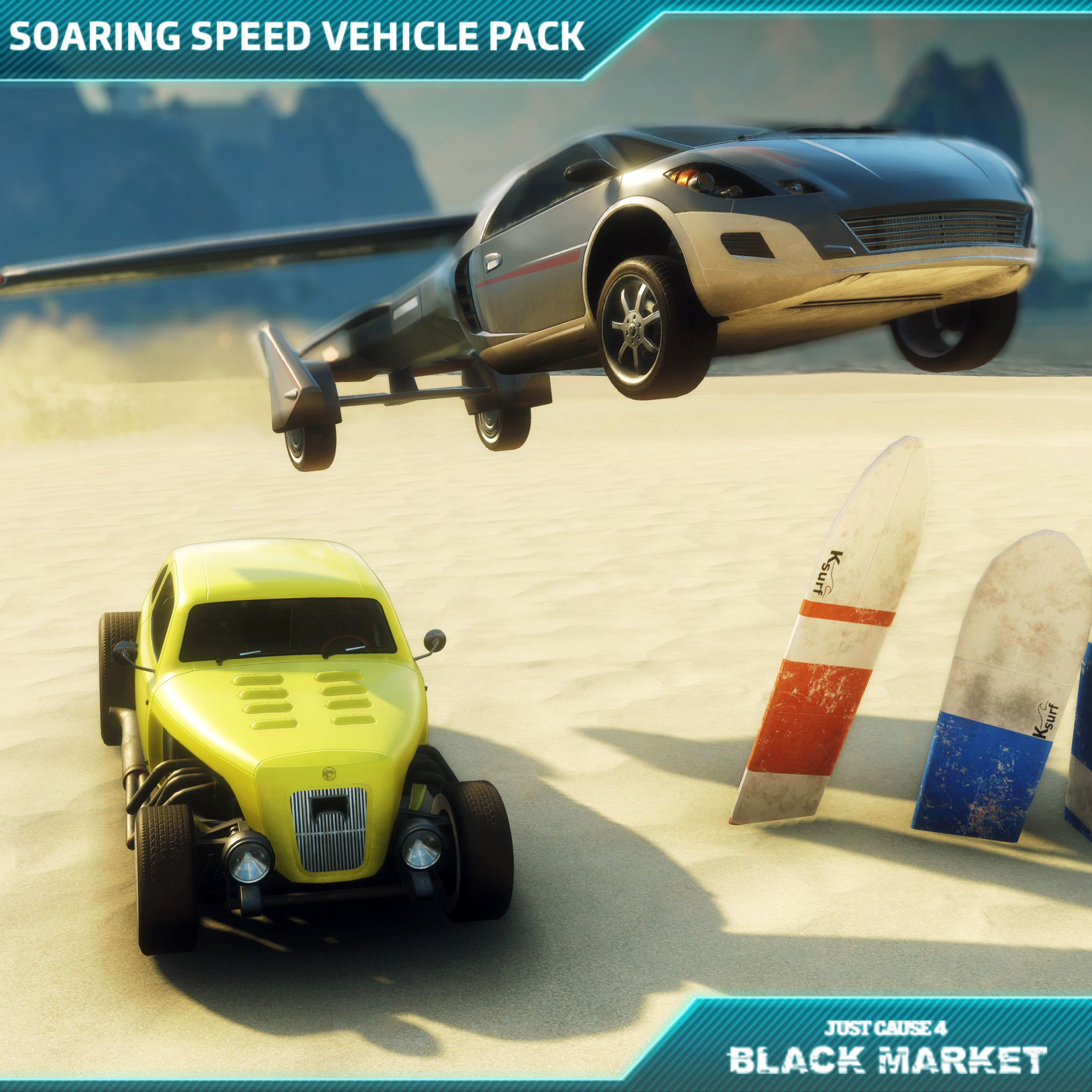 Just Cause 4 - Soaring Speed Vehicle Pack